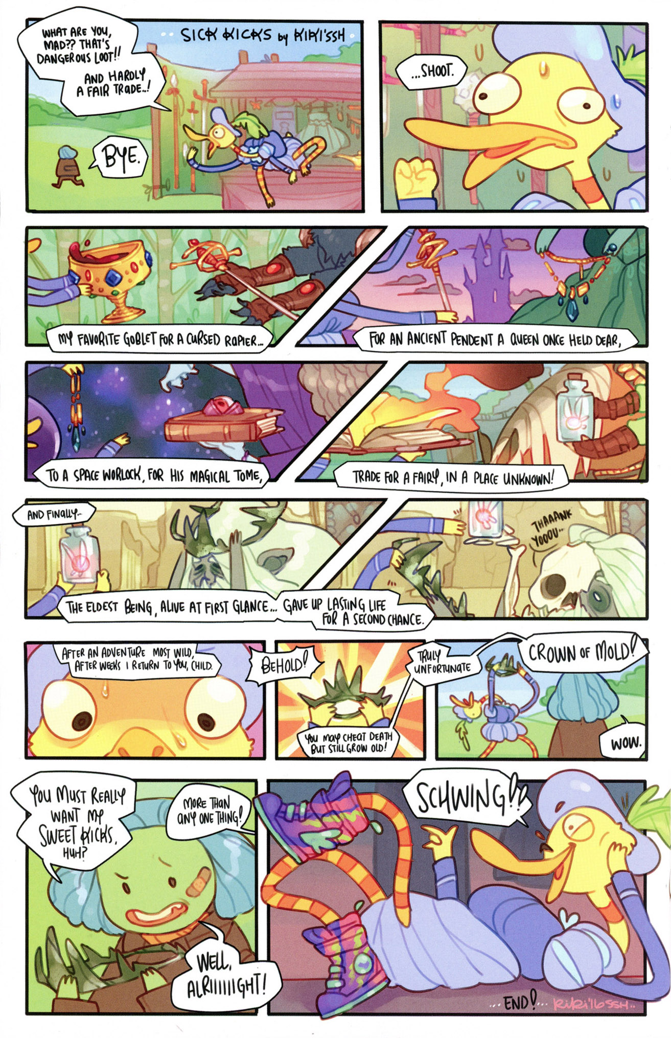 Read online Adventure Time Comics comic -  Issue #7 - 18