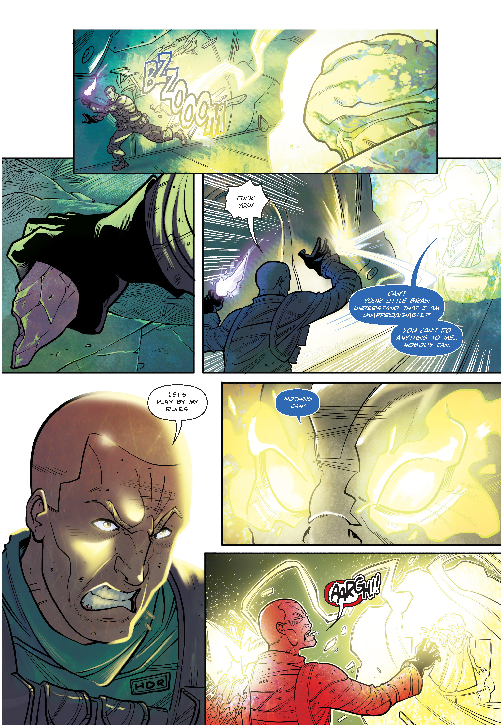 Read online The Shadow of a Terrible Thing comic -  Issue # TPB - 132