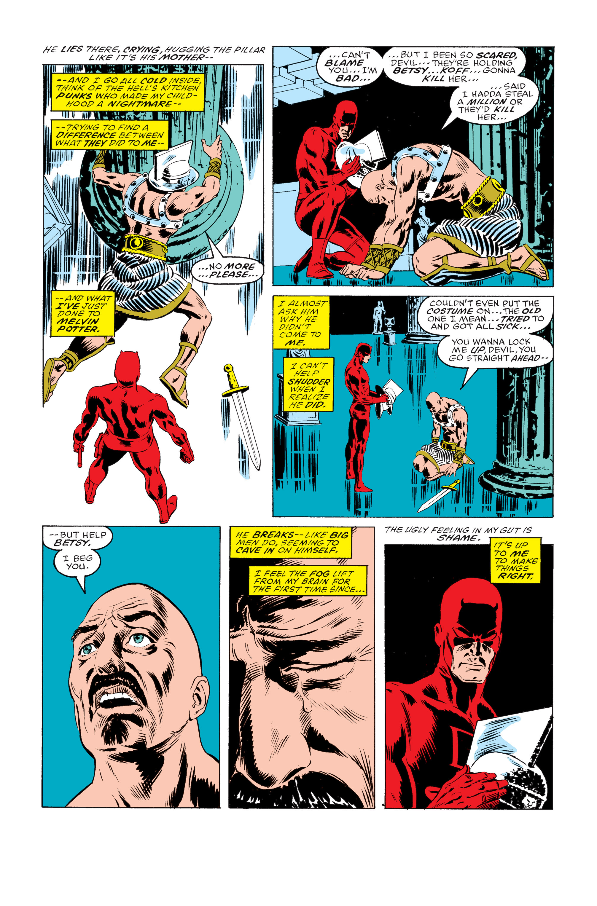 Read online Daredevil: Born Again comic -  Issue # Full - 23