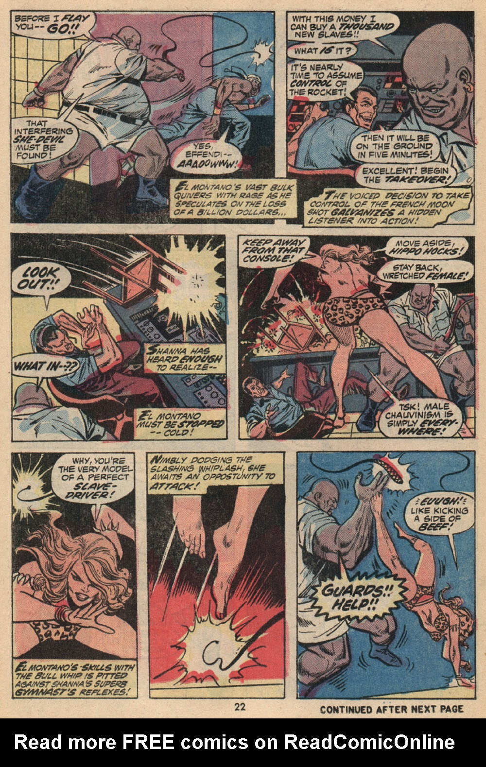 Read online Shanna, the She-Devil (1972) comic -  Issue #2 - 16