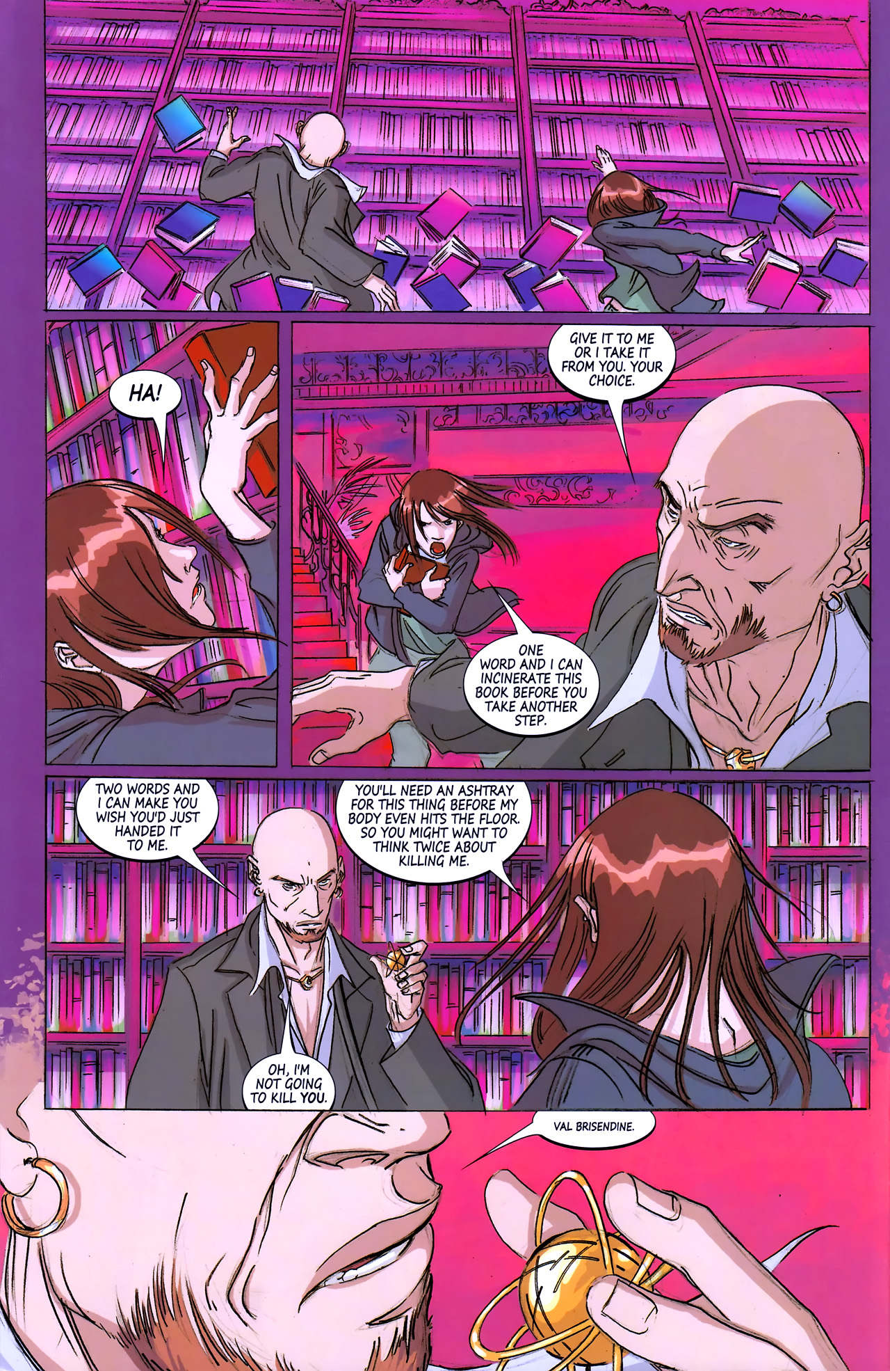 Read online Hexed comic -  Issue #3 - 8