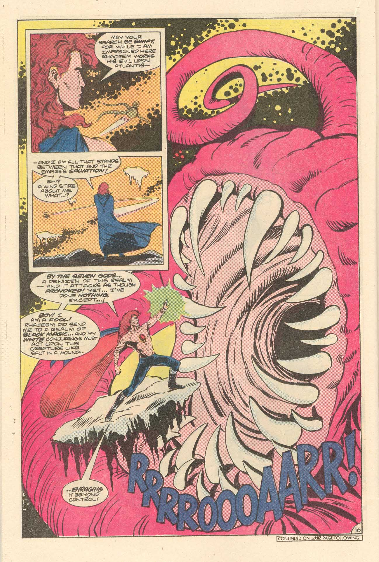 Read online Arion, Lord of Atlantis comic -  Issue #35 - 17