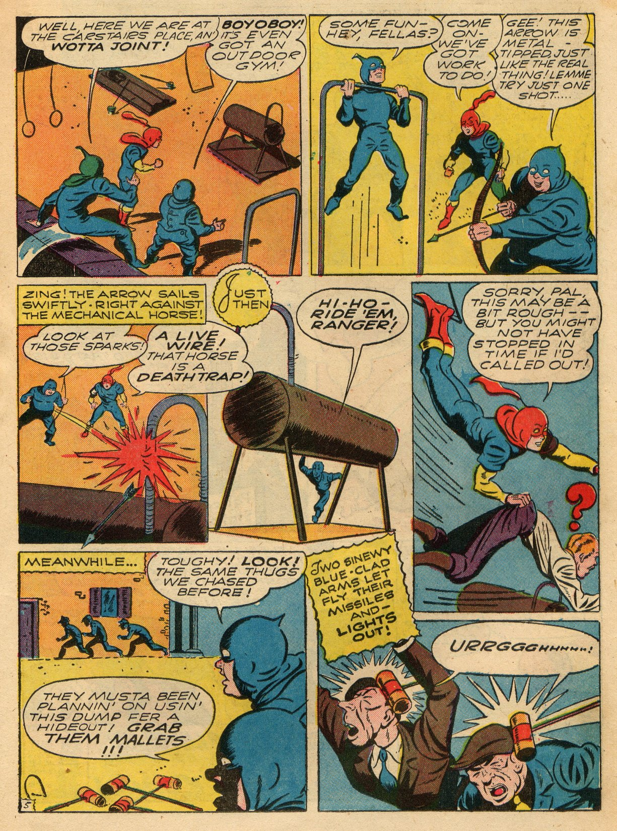 Read online Sensation (Mystery) Comics comic -  Issue #22 - 29