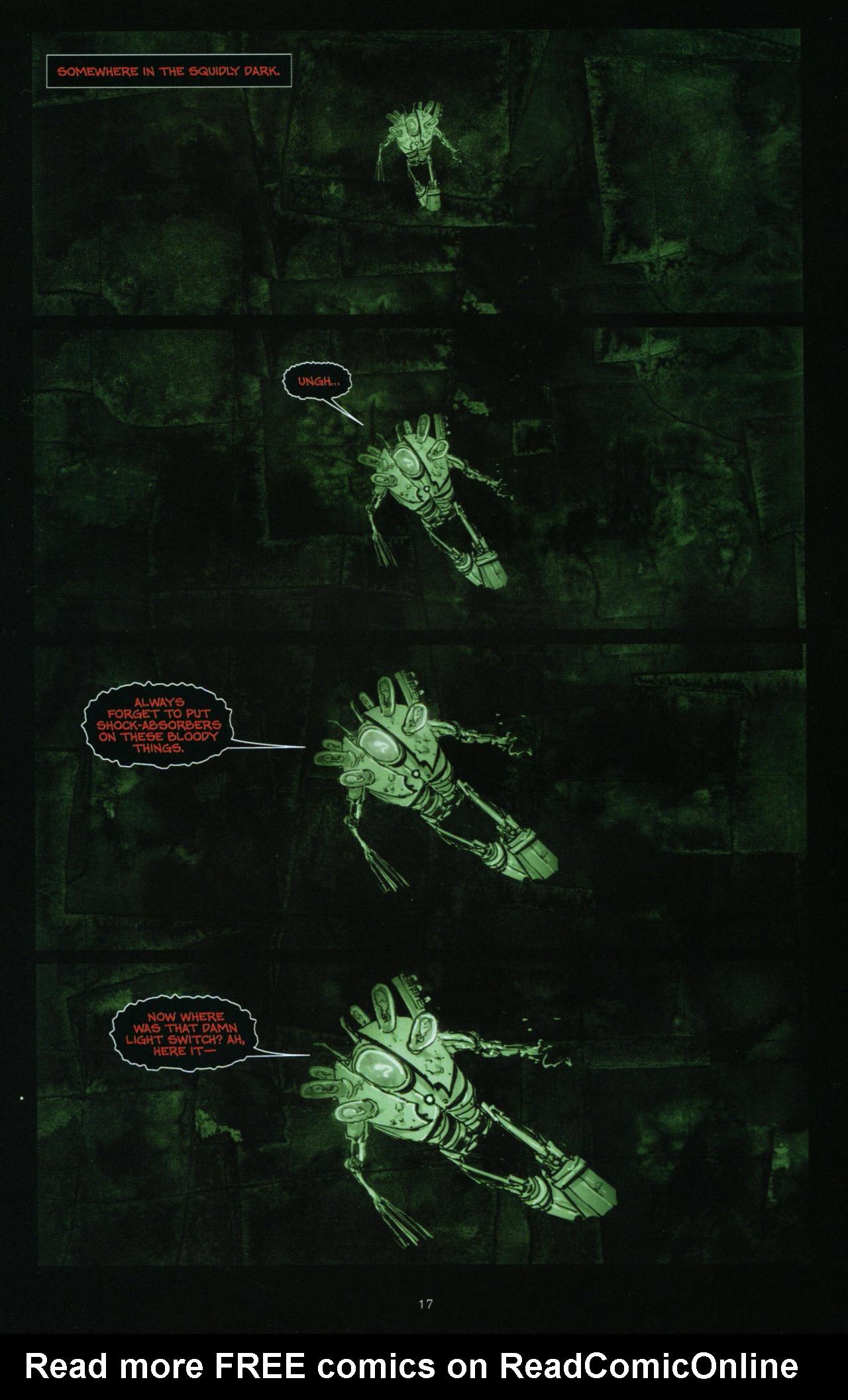 Read online Wormwood: Gentleman Corpse comic -  Issue #10 - 18