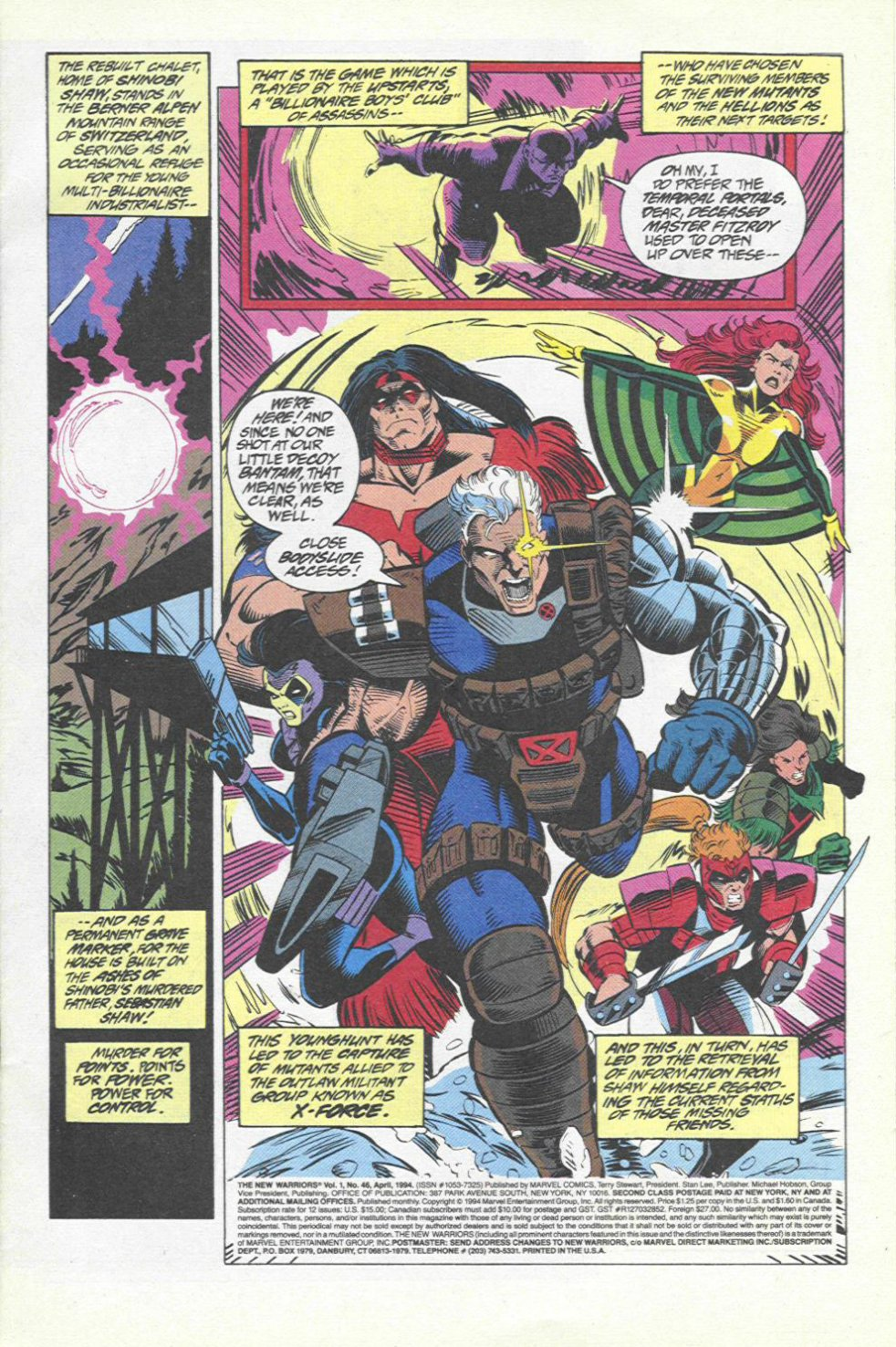 The New Warriors Issue #46 #50 - English 2