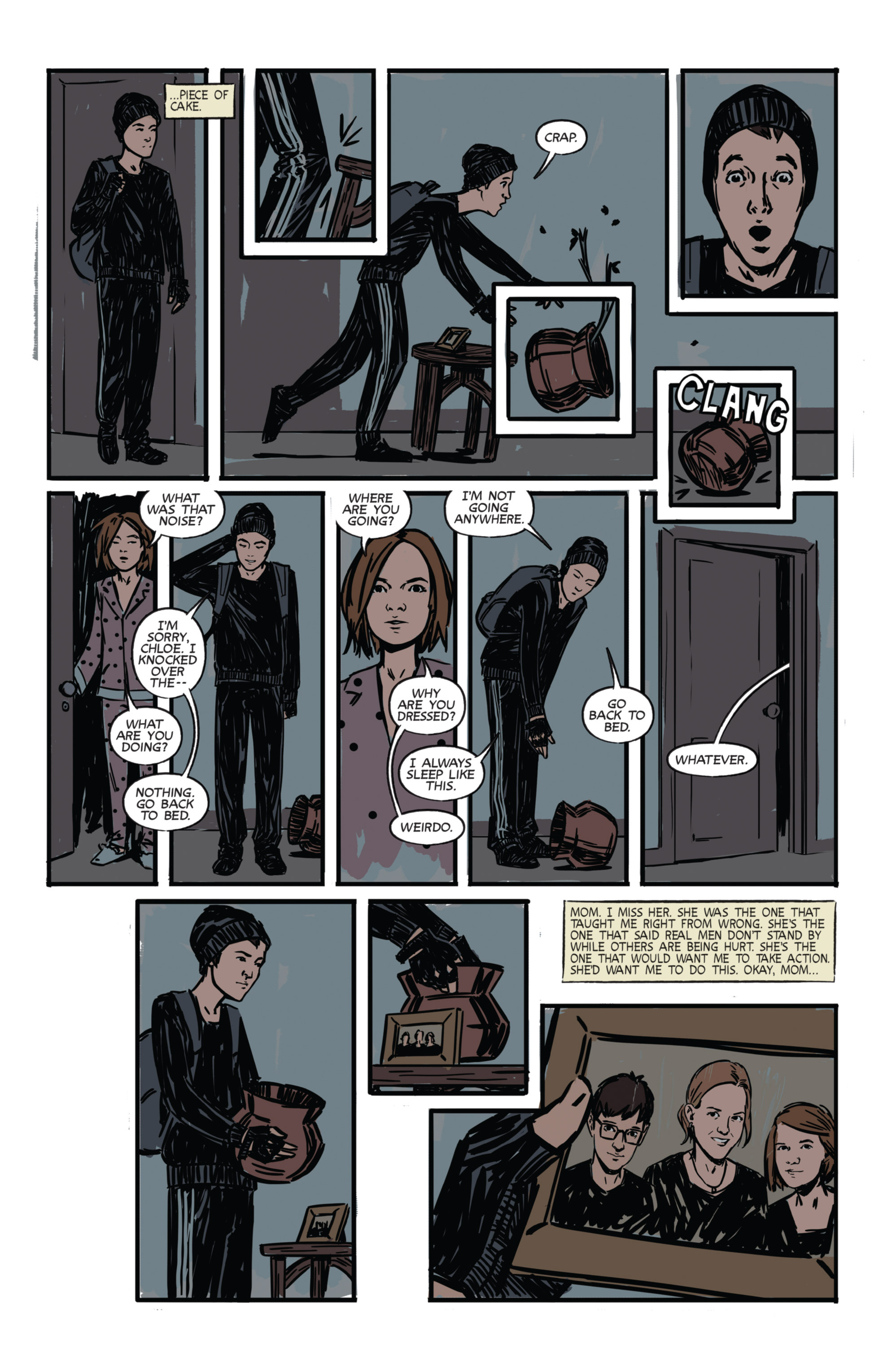 Read online Night Owl Society comic -  Issue #1 - 4