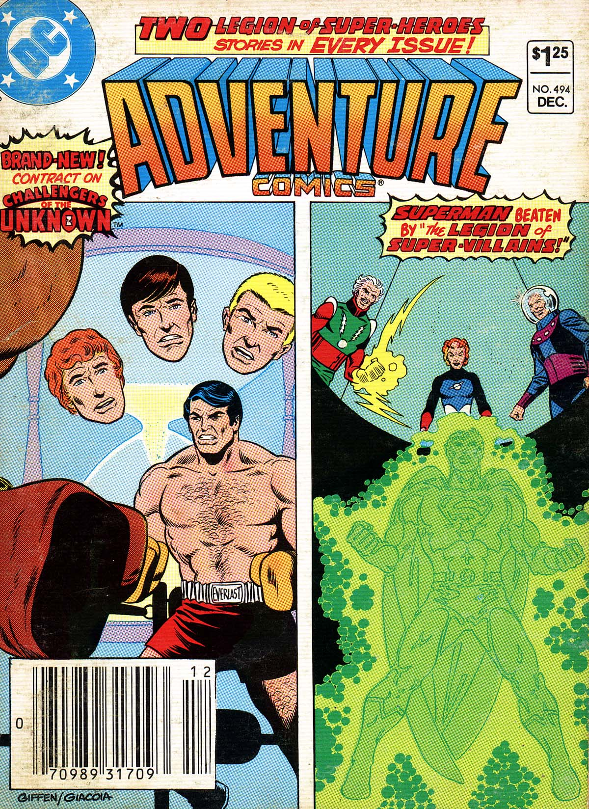 Adventure Comics (1938) 494 Page 1