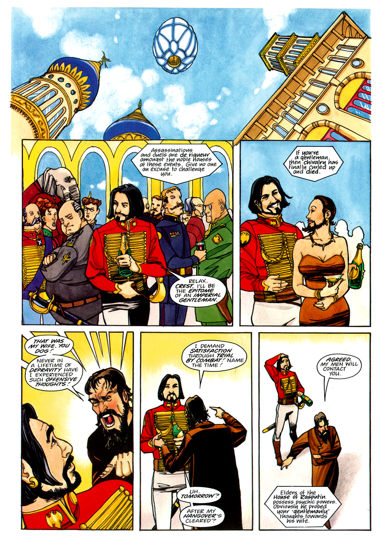 Read online Nikolai Dante comic -  Issue # TPB 1 - 137