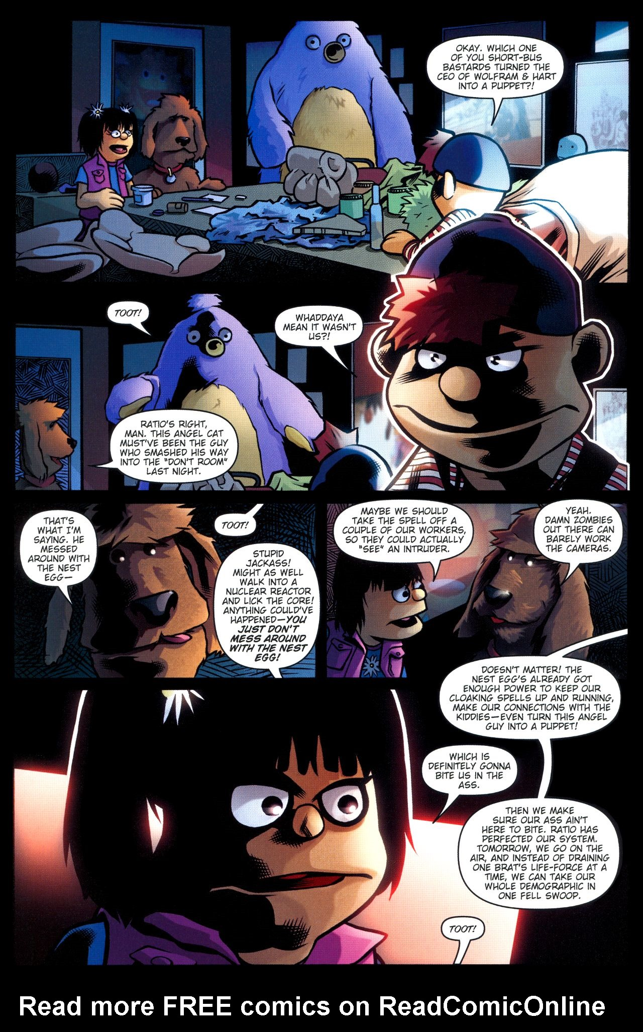 Read online Angel: Smile Time comic -  Issue #2 - 18