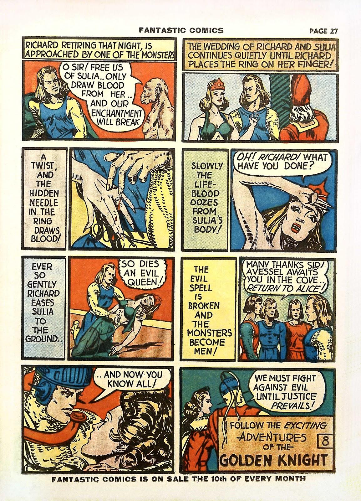 Read online Fantastic Comics comic -  Issue #11 - 30