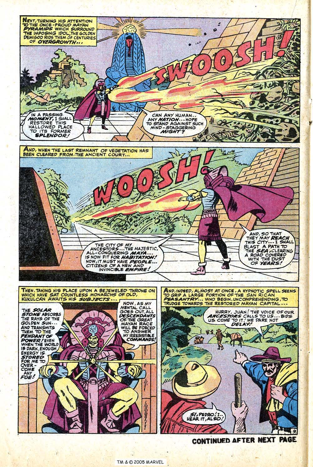 Read online Uncanny X-Men (1963) comic -  Issue #74 - 14
