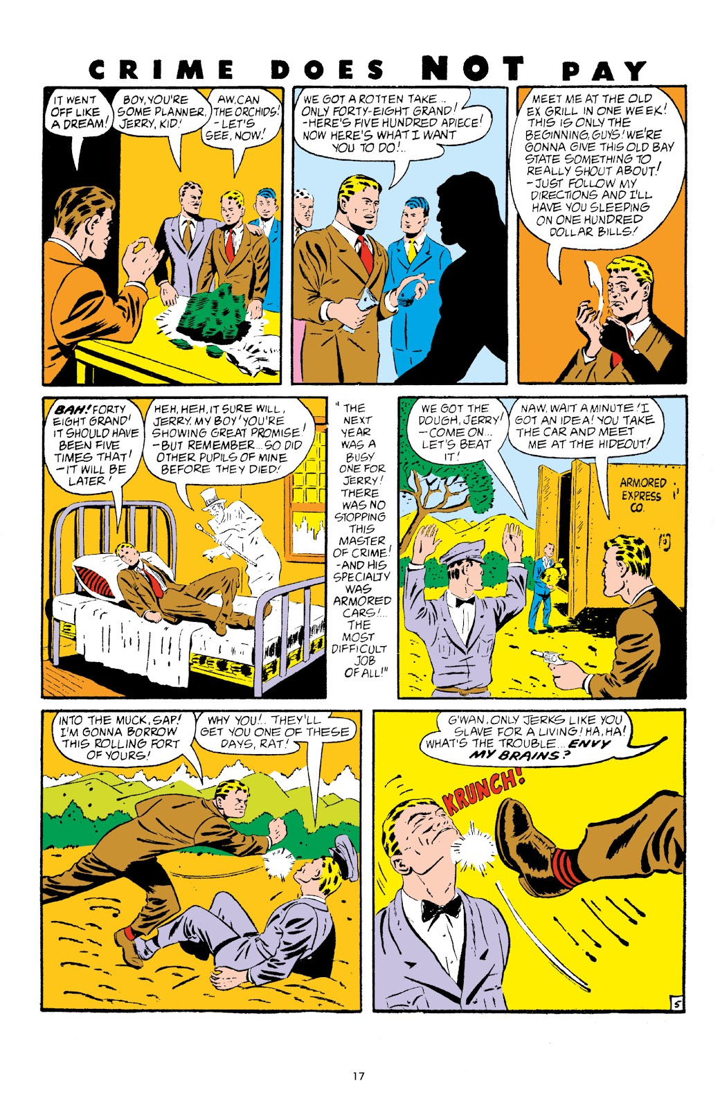 Read online Crime Does Not Pay Archives comic -  Issue # TPB 5 (Part 1) - 17