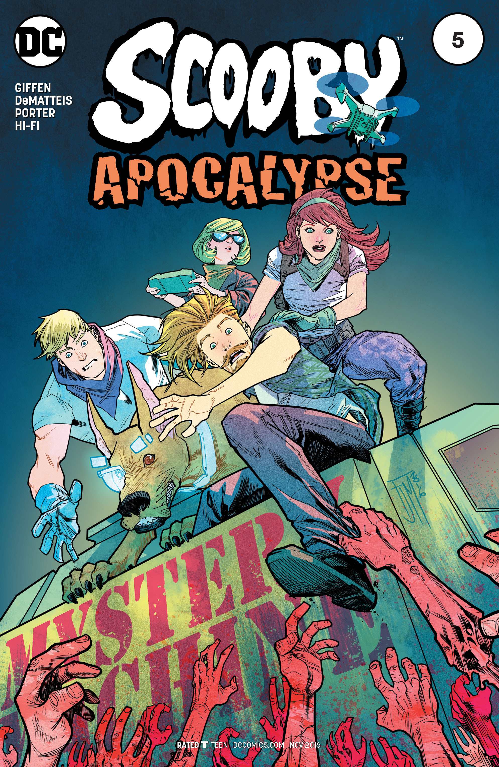Read online Scooby Apocalypse comic -  Issue #5 - 3