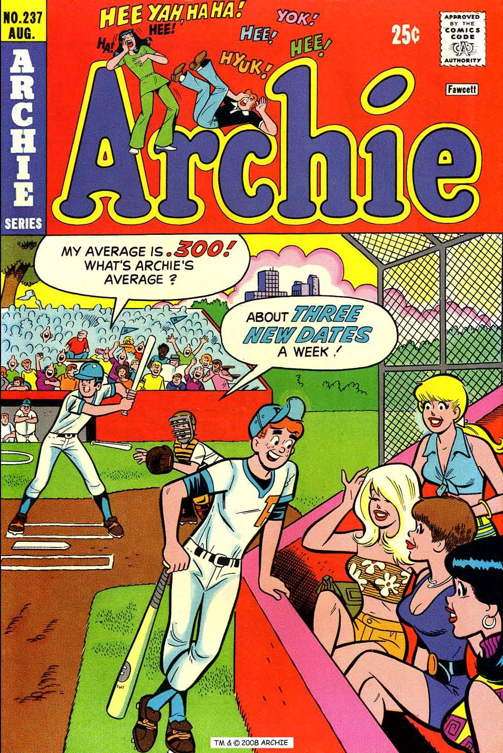 Read online Archie (1960) comic -  Issue #237 - 1