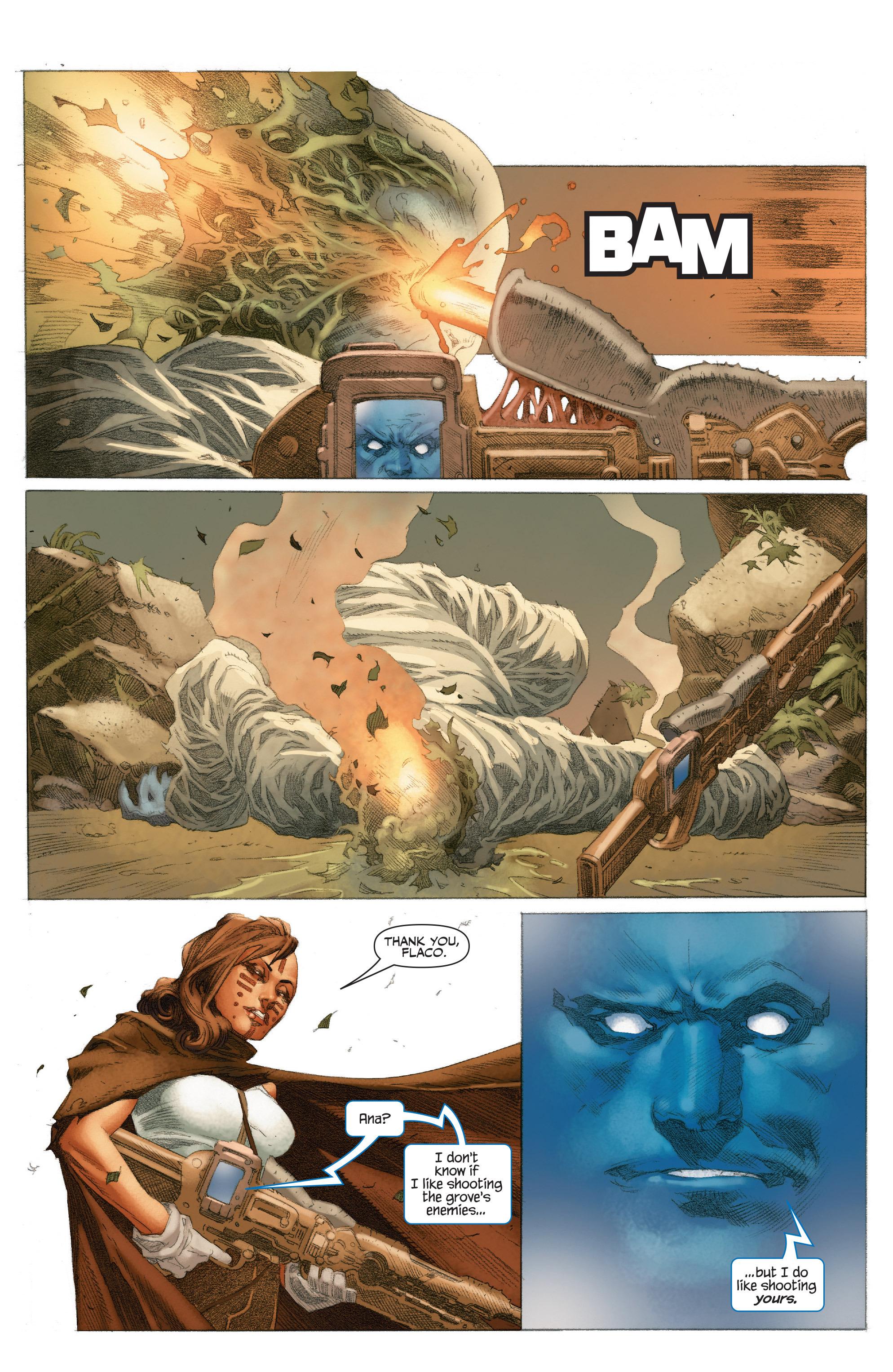 Read online 4001 A.D.: War Mother comic -  Issue #4001 A.D.: War Mother Full - 27