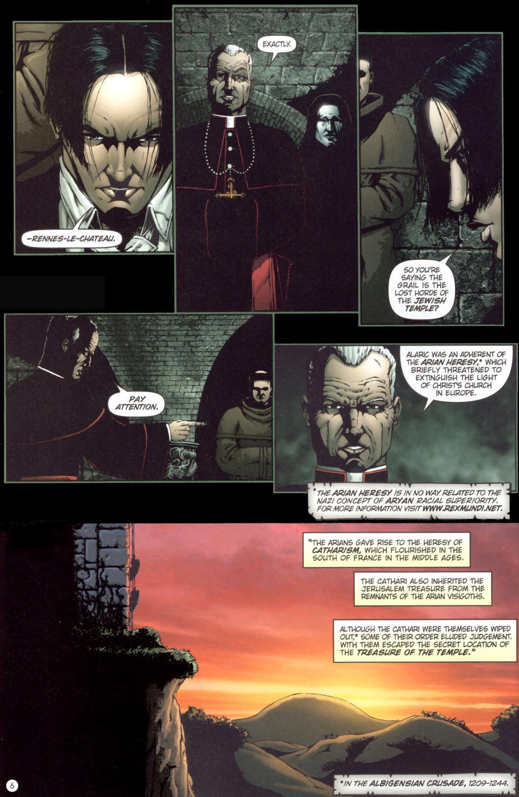 Read online Rex Mundi comic -  Issue #11 - 10