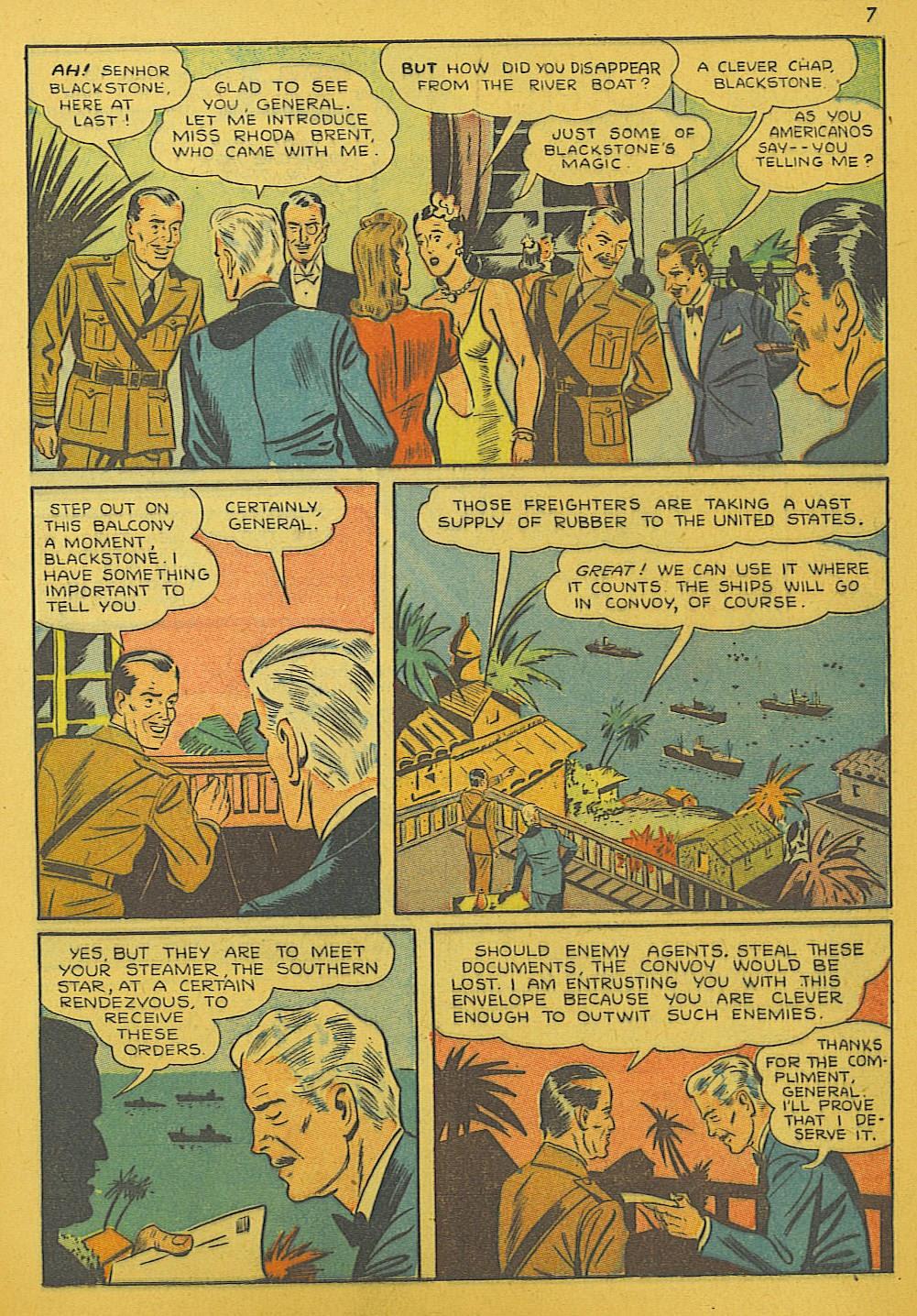 Read online Super-Magician Comics comic -  Issue #10 - 7