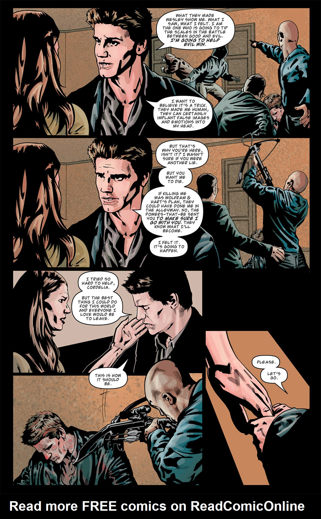 Read online Angel: After The Fall comic -  Issue #13 - 15