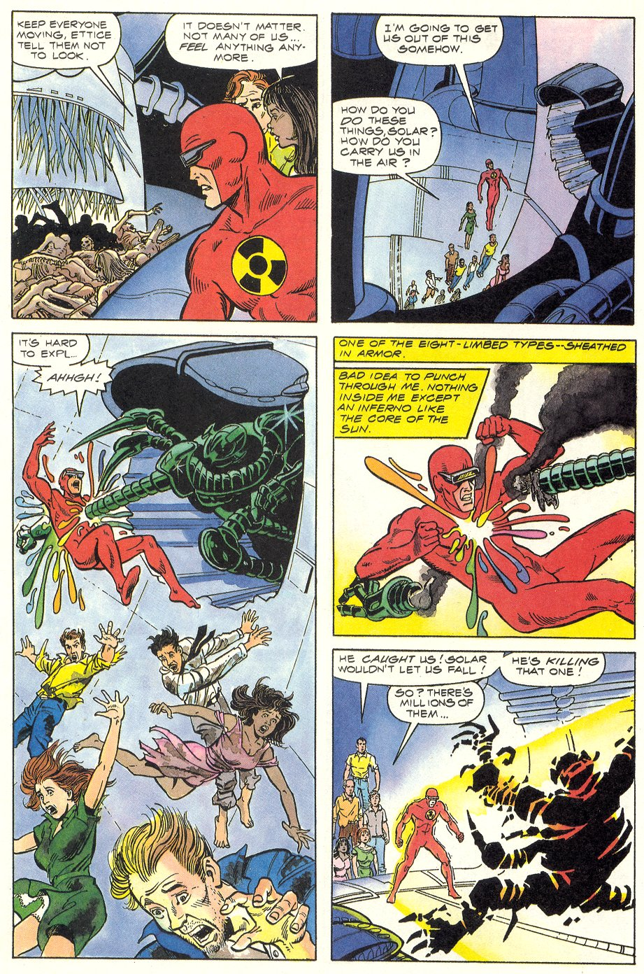 Read online Solar, Man of the Atom comic -  Issue #6 - 10