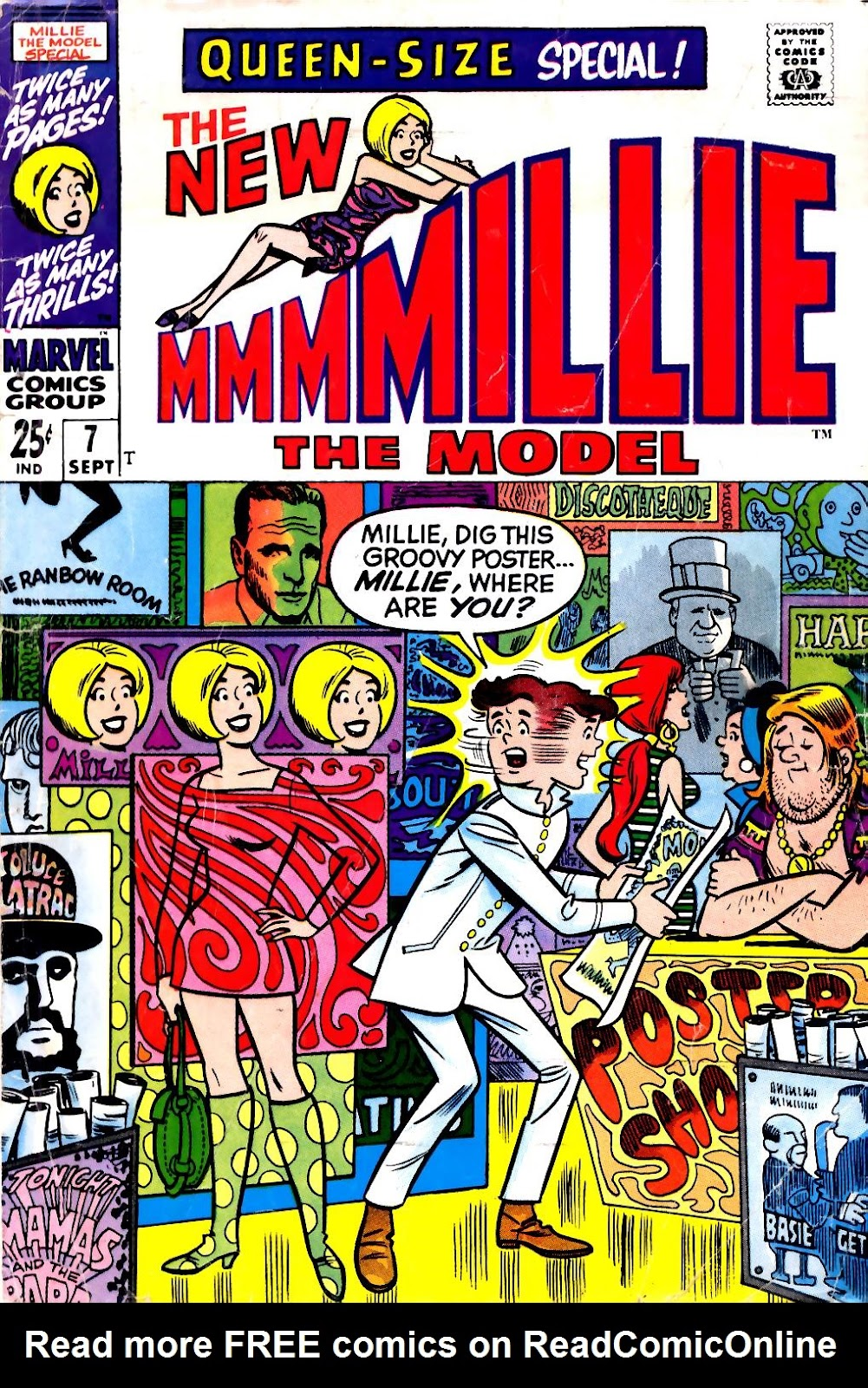 Read online Millie the Model comic -  Issue # Annual 7 - 1