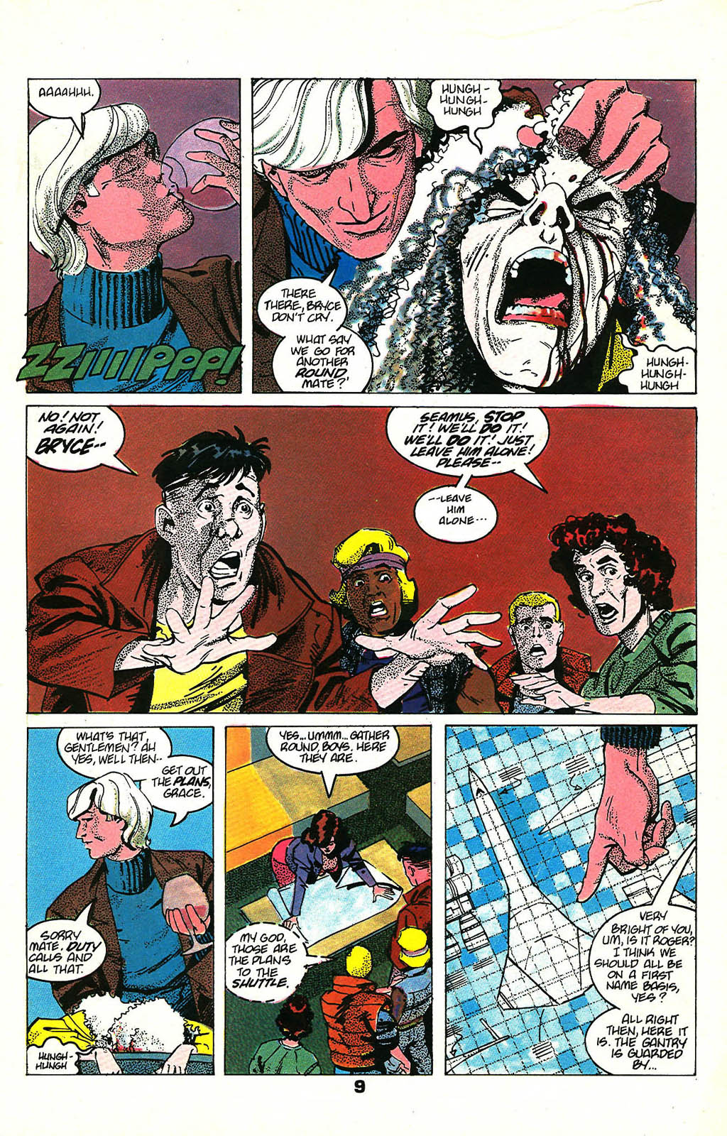 Read online American Flagg! comic -  Issue #48 - 11