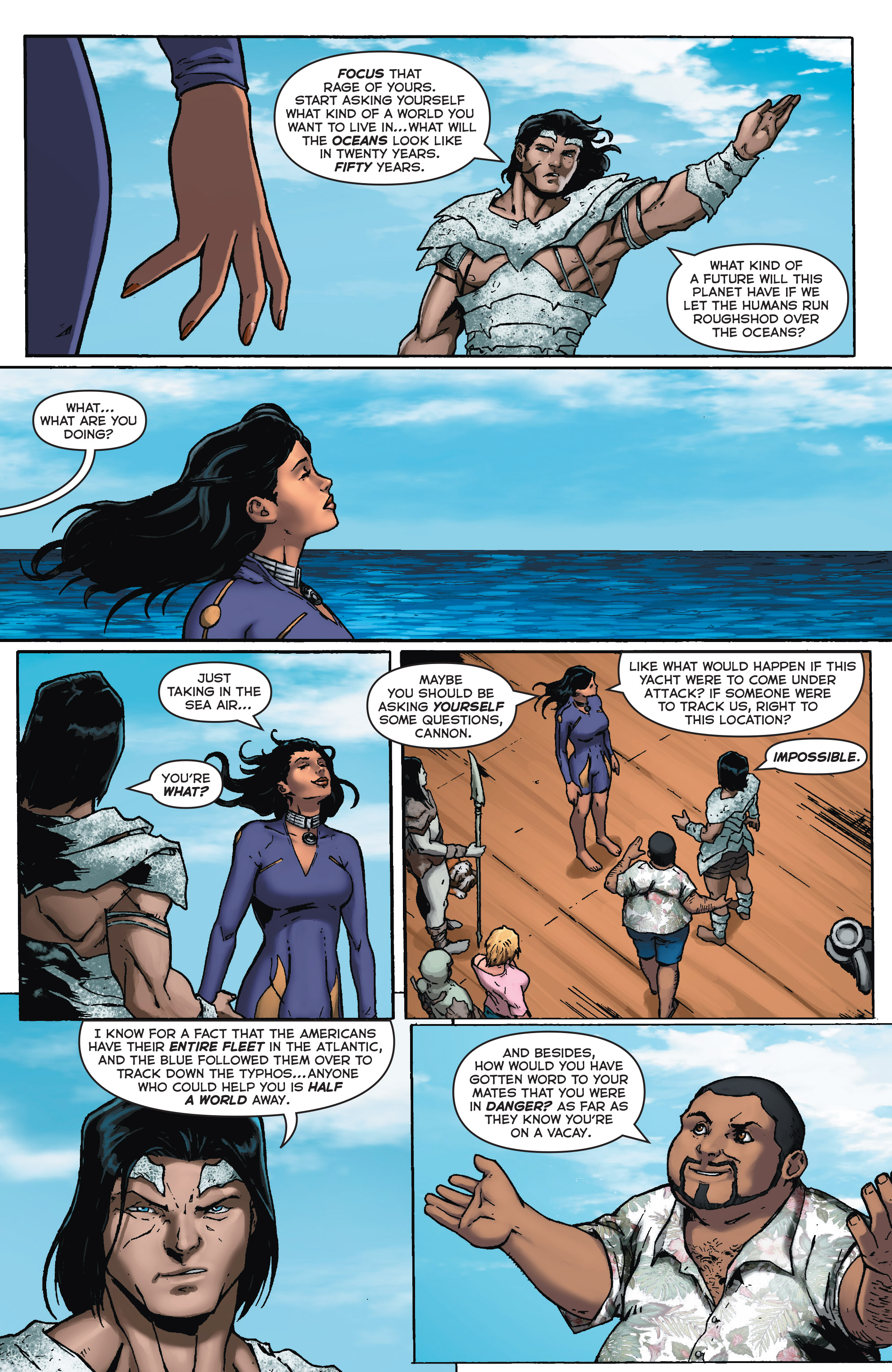 Read online Fathom (2017) comic -  Issue #5 - 16