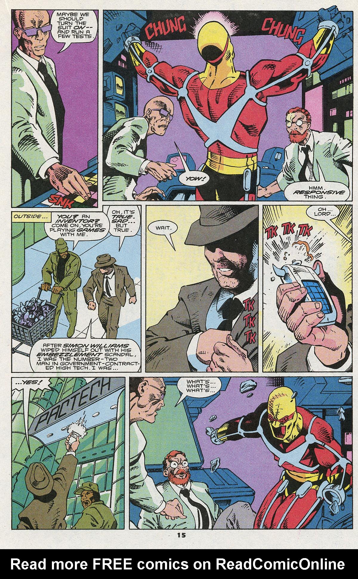 Read online Wonder Man (1991) comic -  Issue #5 - 13