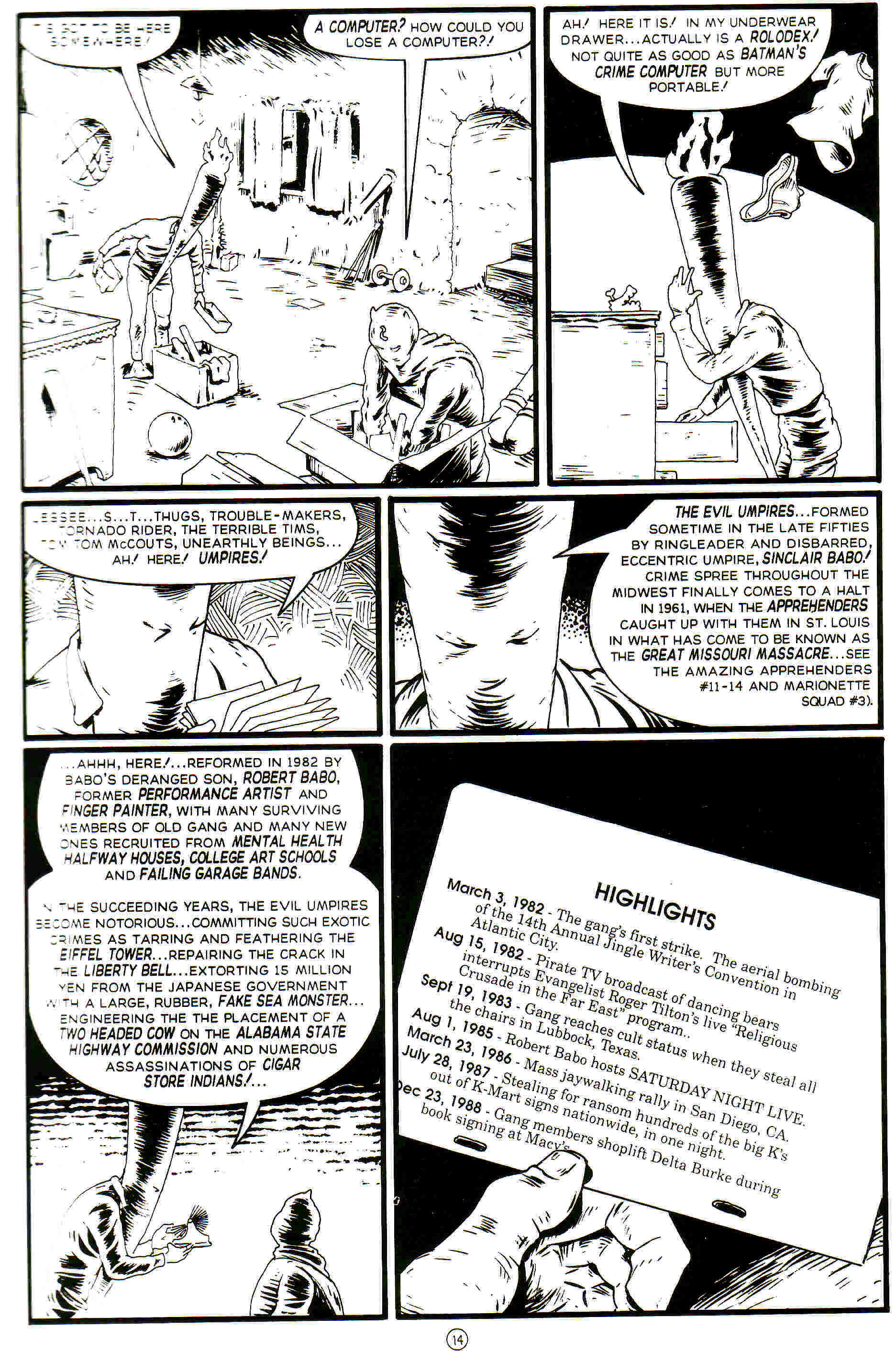Read online Flaming Carrot Comics (1988) comic -  Issue #26 - 16