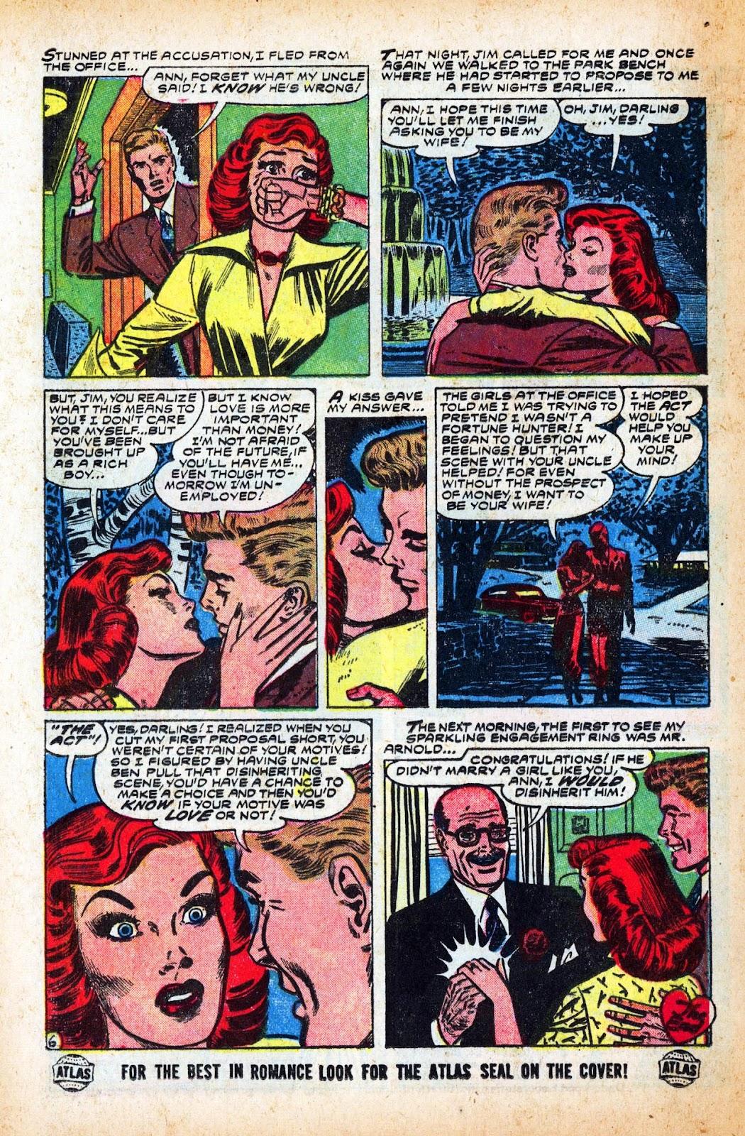 Love Romances (1949) issue 47 - Page 16