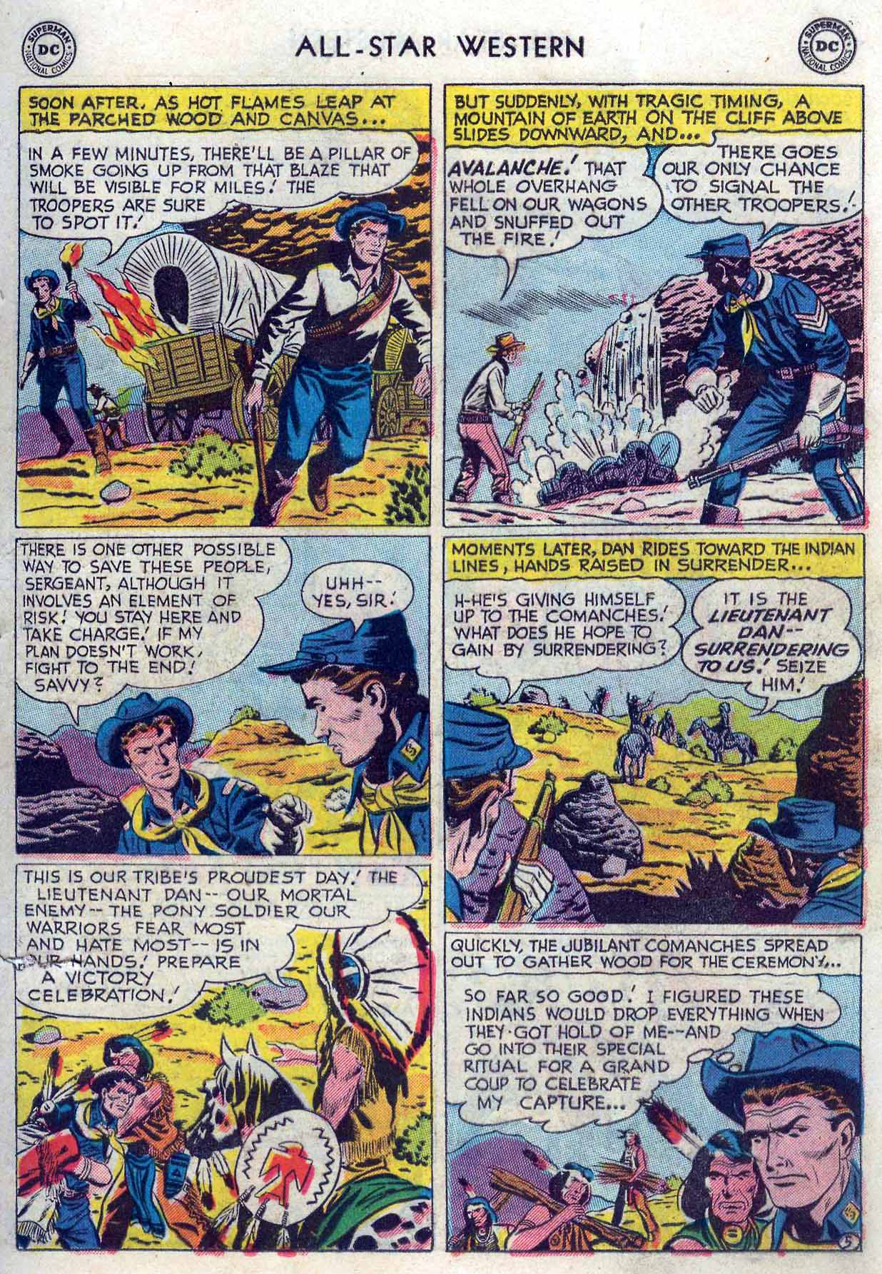 Read online All-Star Western (1951) comic -  Issue #85 - 23