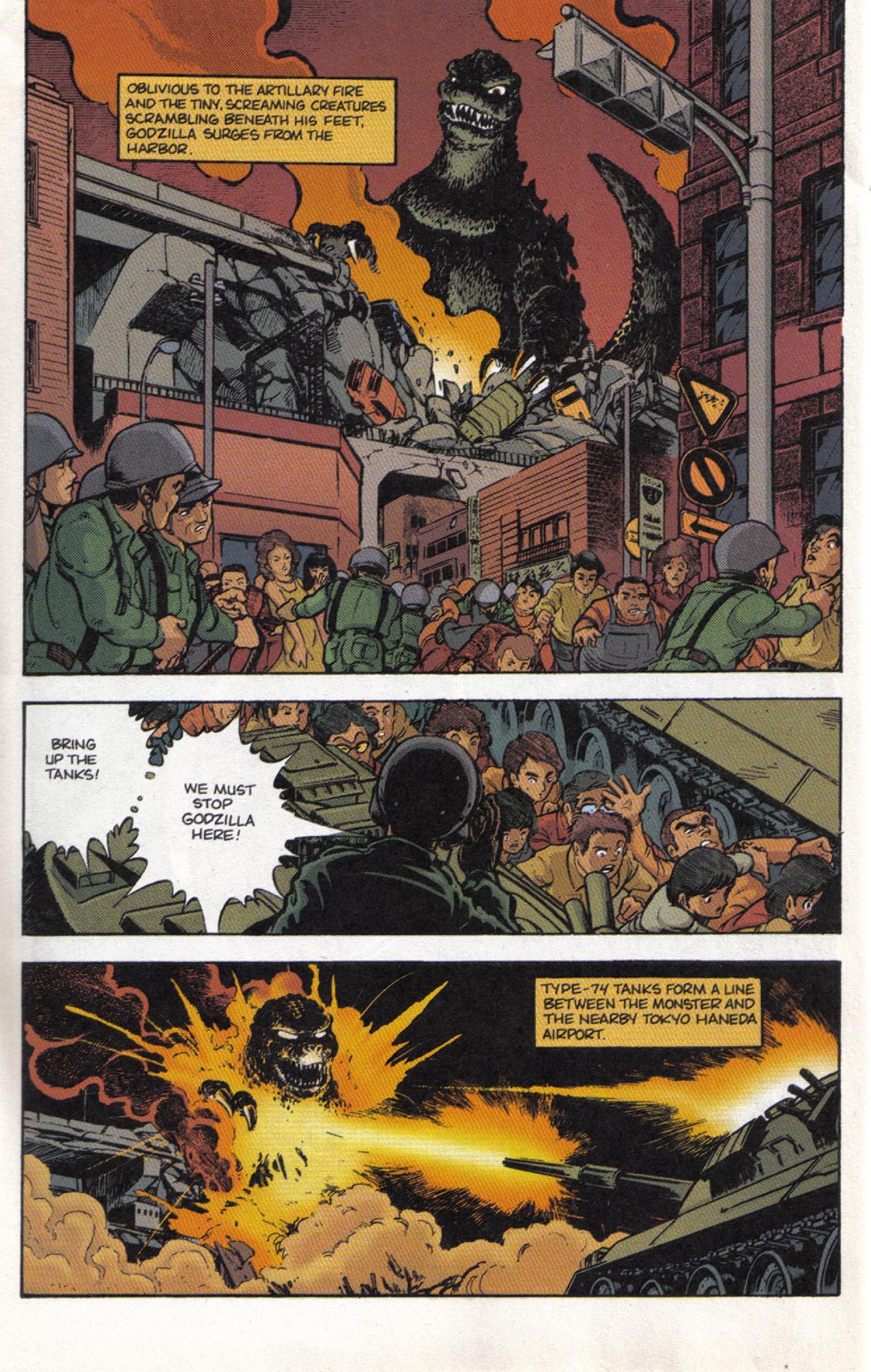Read online Dark Horse Classics: Terror of Godzilla comic -  Issue #3 - 22