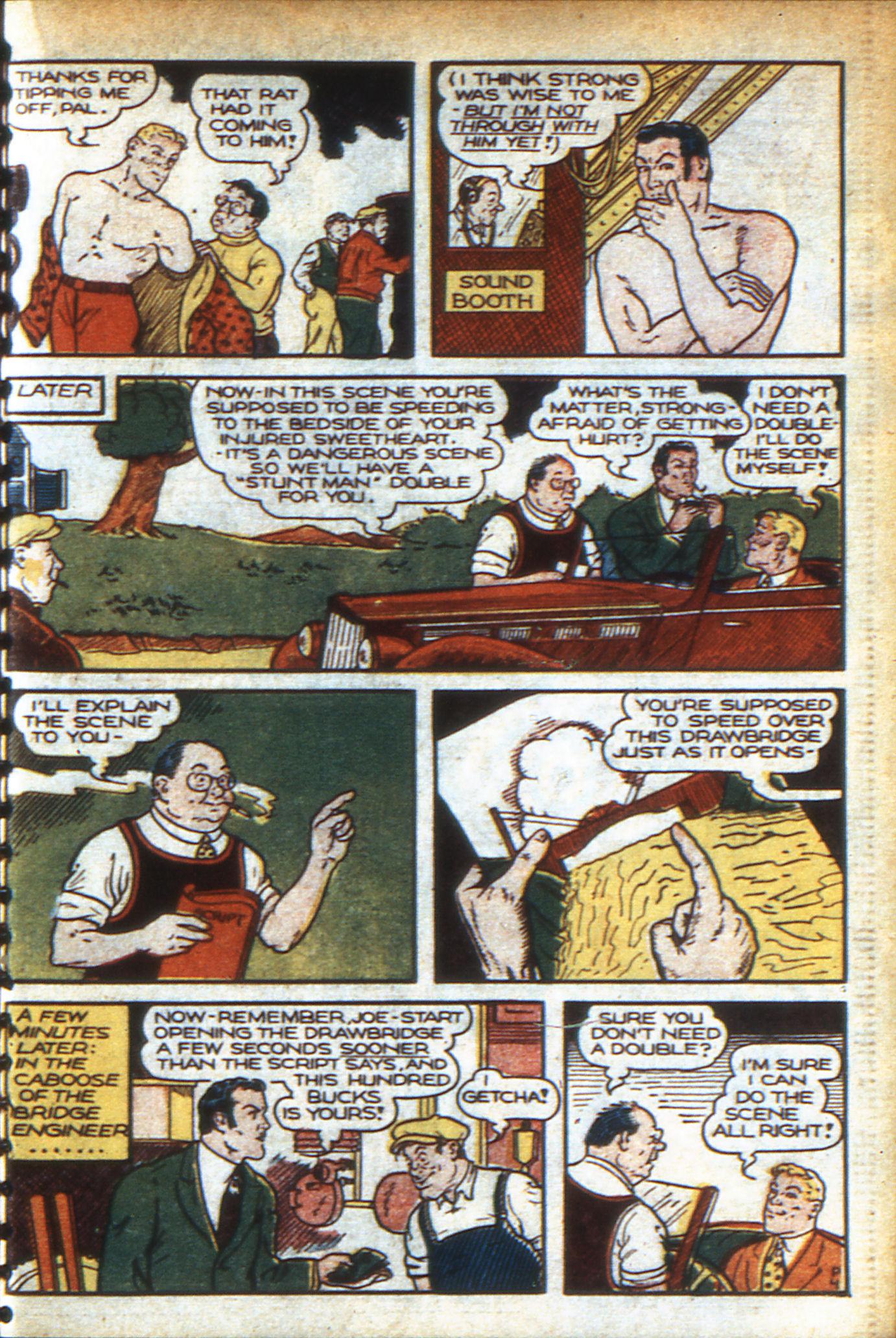 Read online Adventure Comics (1938) comic -  Issue #47 - 32