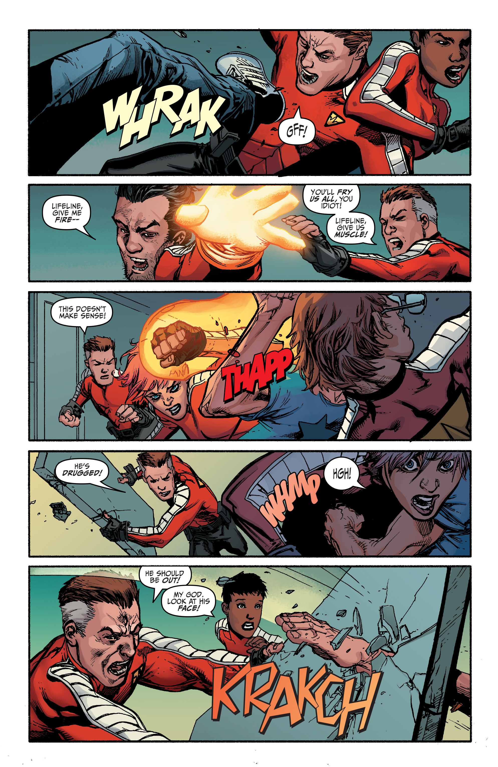 Read online Bloodshot and H.A.R.D.Corps comic -  Issue #20 - 21