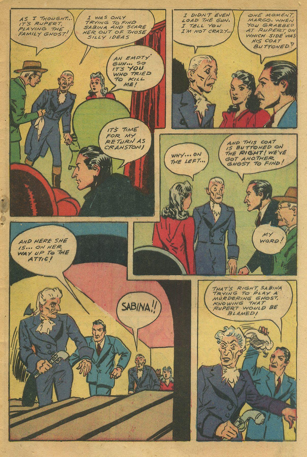 Read online Shadow Comics comic -  Issue #49 - 49