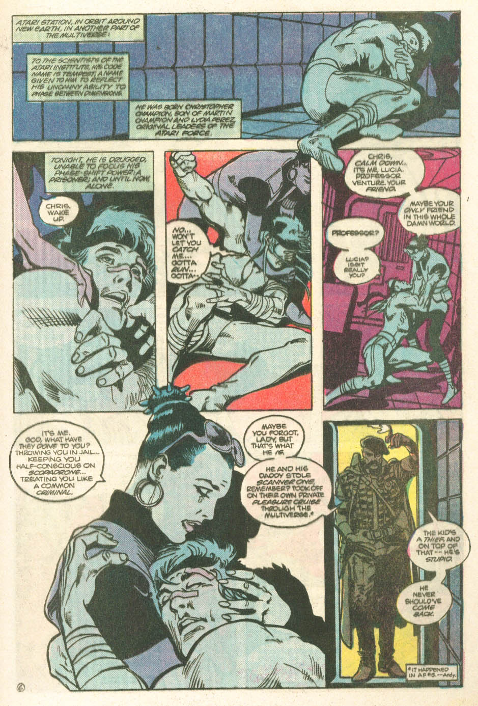 Read online Atari Force (1984) comic -  Issue #11 - 8