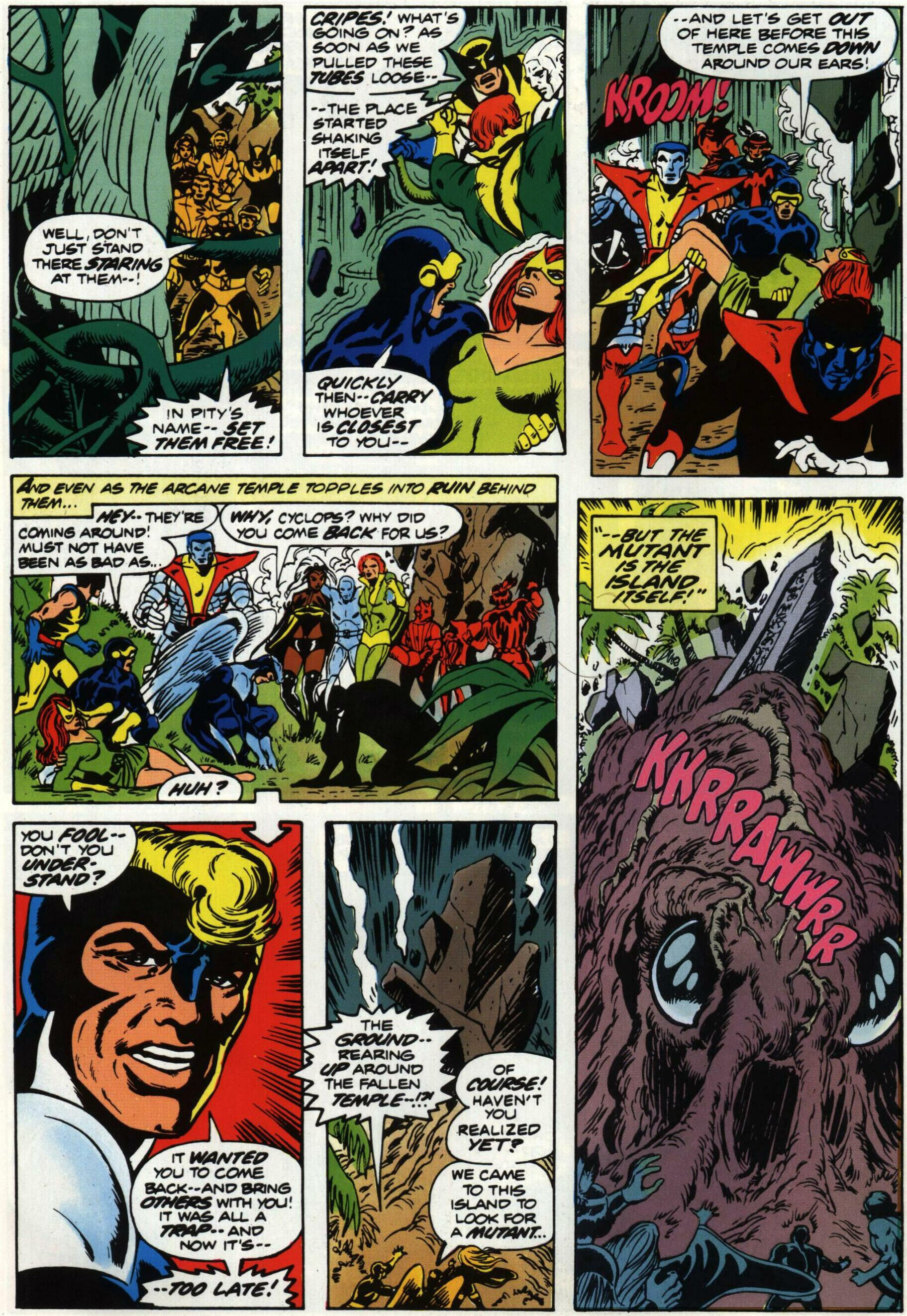 Read online Giant-Size X-Men comic -  Issue #1 - 29