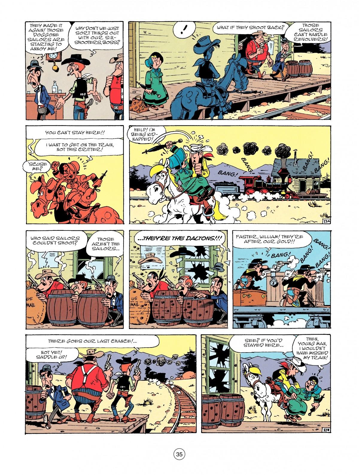 Read online A Lucky Luke Adventure comic -  Issue #53 - 35