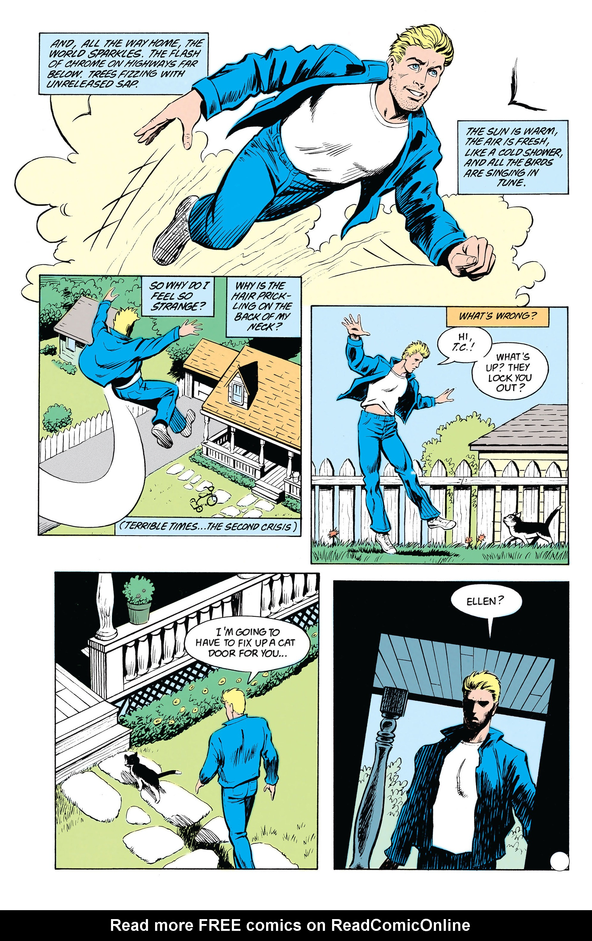 Read online Animal Man (1988) comic -  Issue #19 - 23