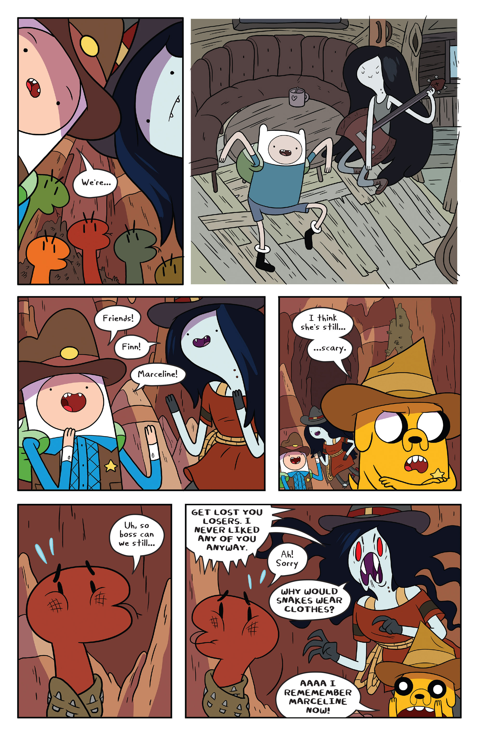 Read online Adventure Time comic -  Issue #54 - 18
