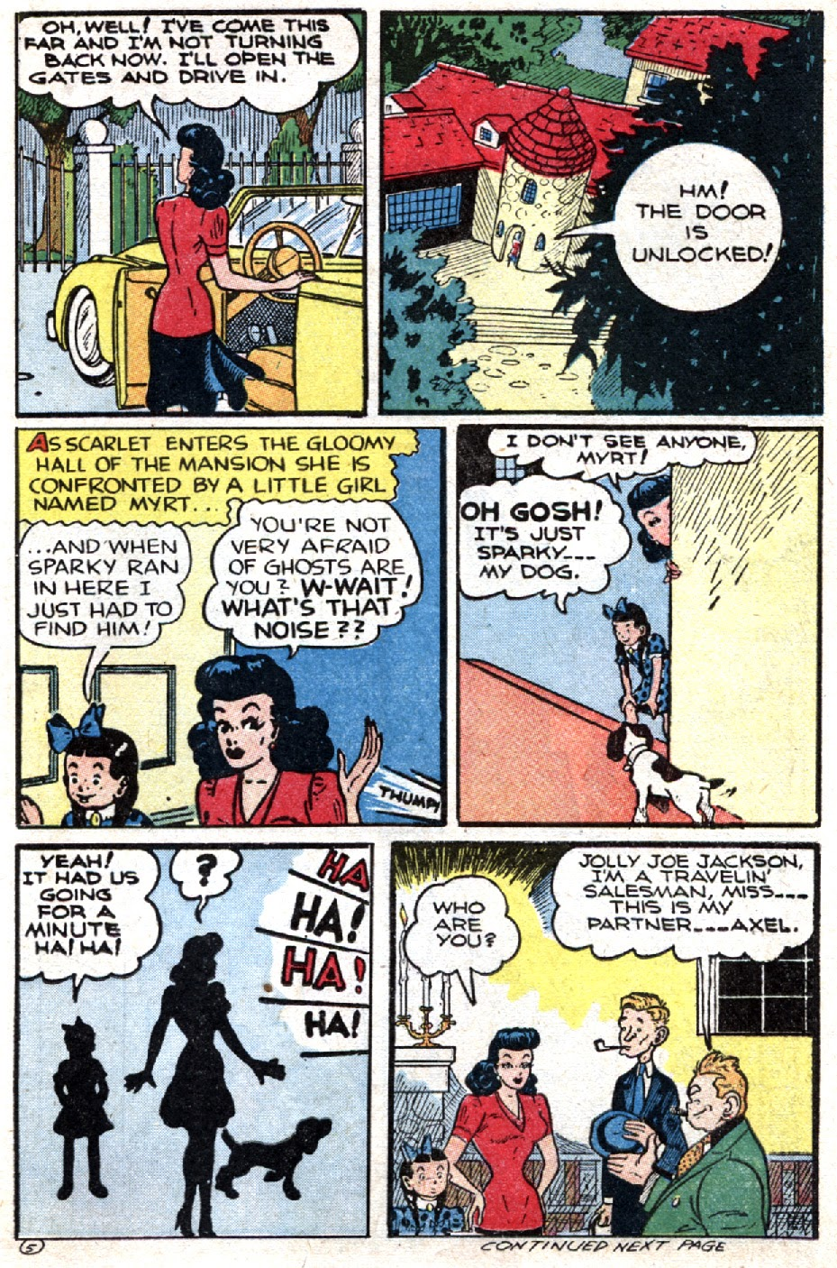 Read online Famous Funnies comic -  Issue #121 - 15