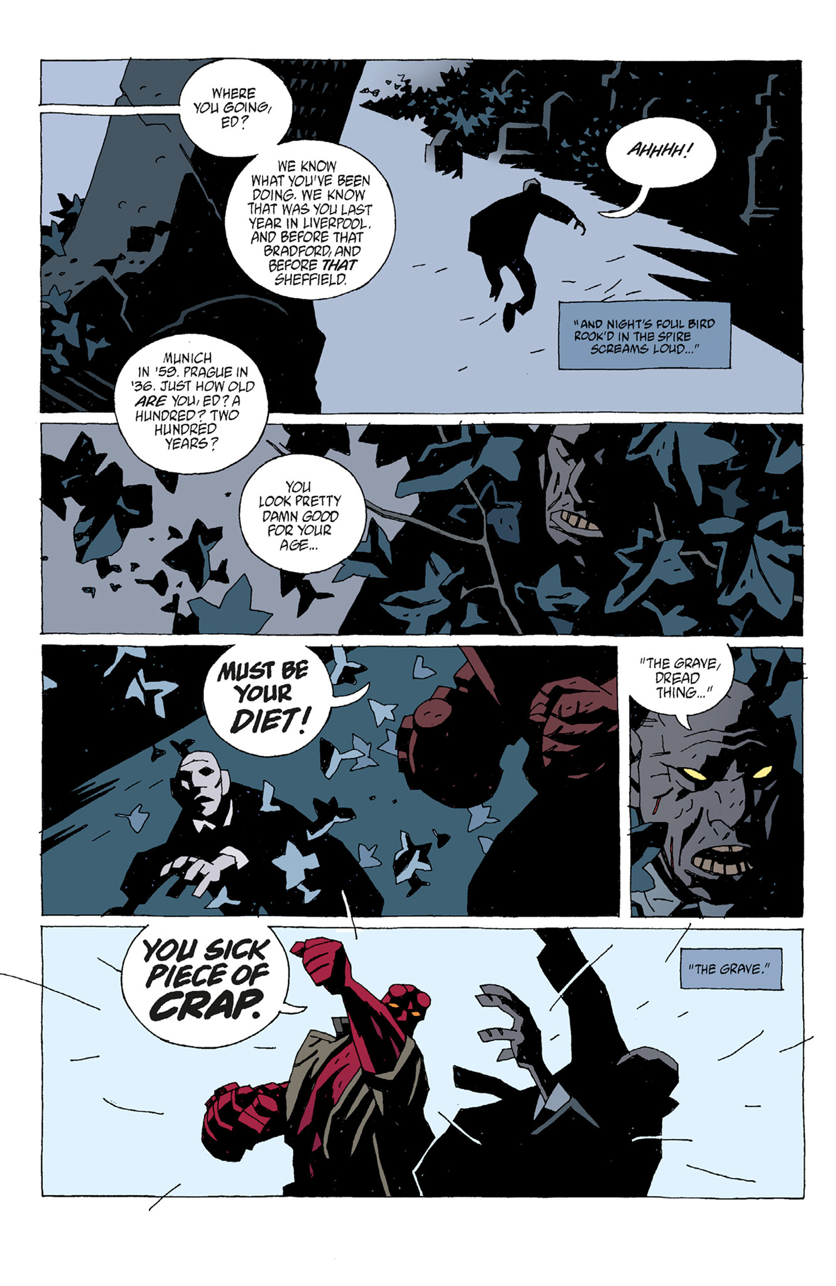 Read online Hellboy: The Troll Witch and Others comic -  Issue # TPB - 74