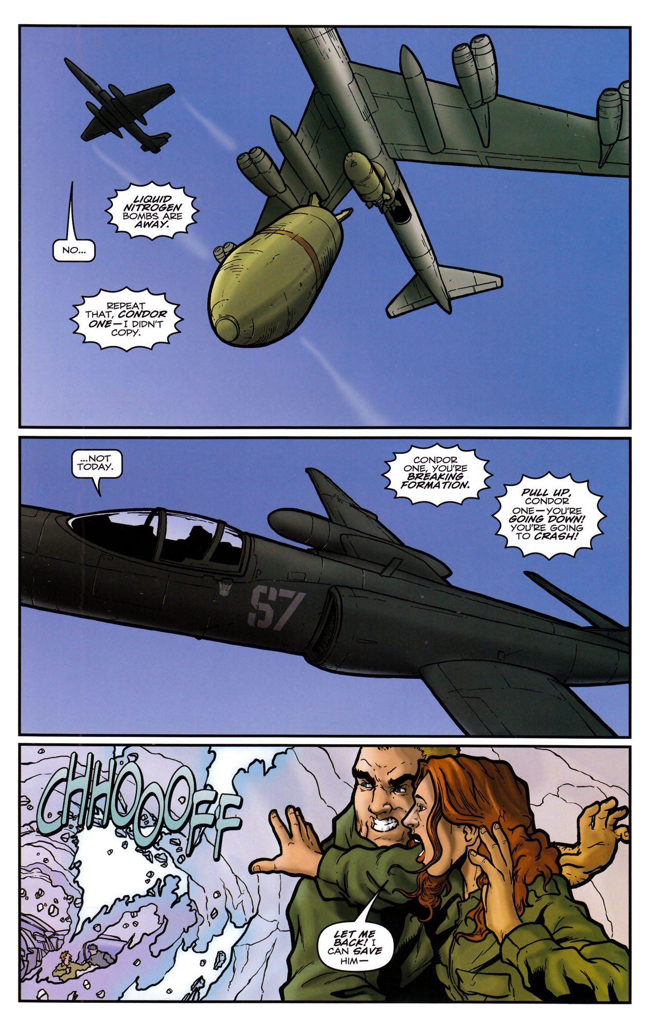 Read online Transformers: Sector 7 comic -  Issue #5 - 19