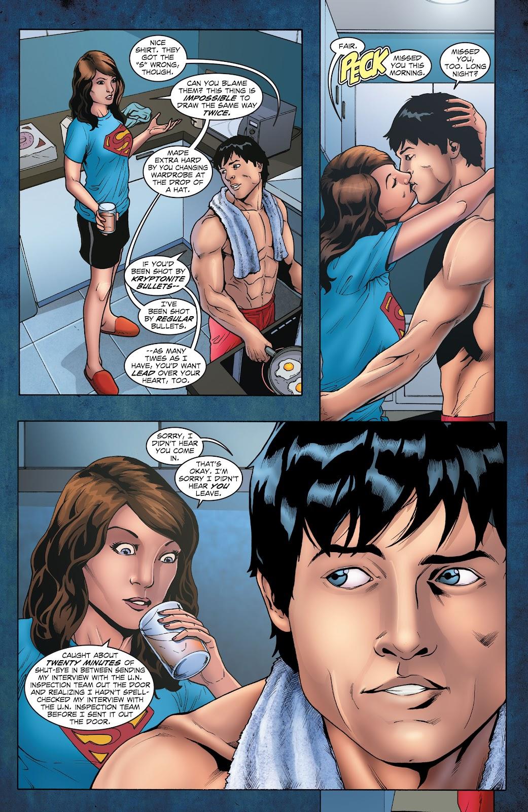 Read online Smallville Season 11 [II] comic -  Issue # TPB 1 - 18