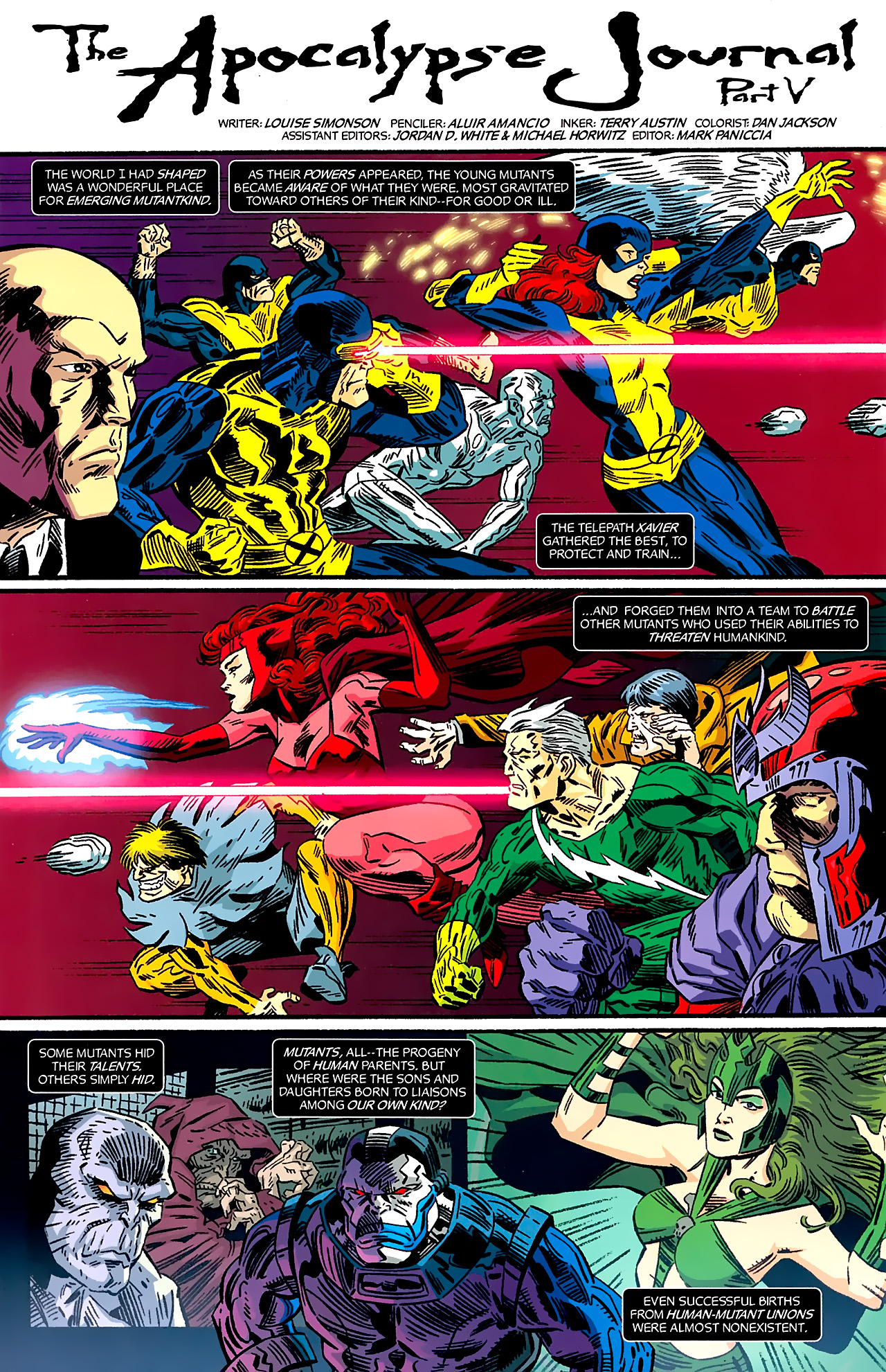 Read online X-Factor Forever comic -  Issue #5 - 20