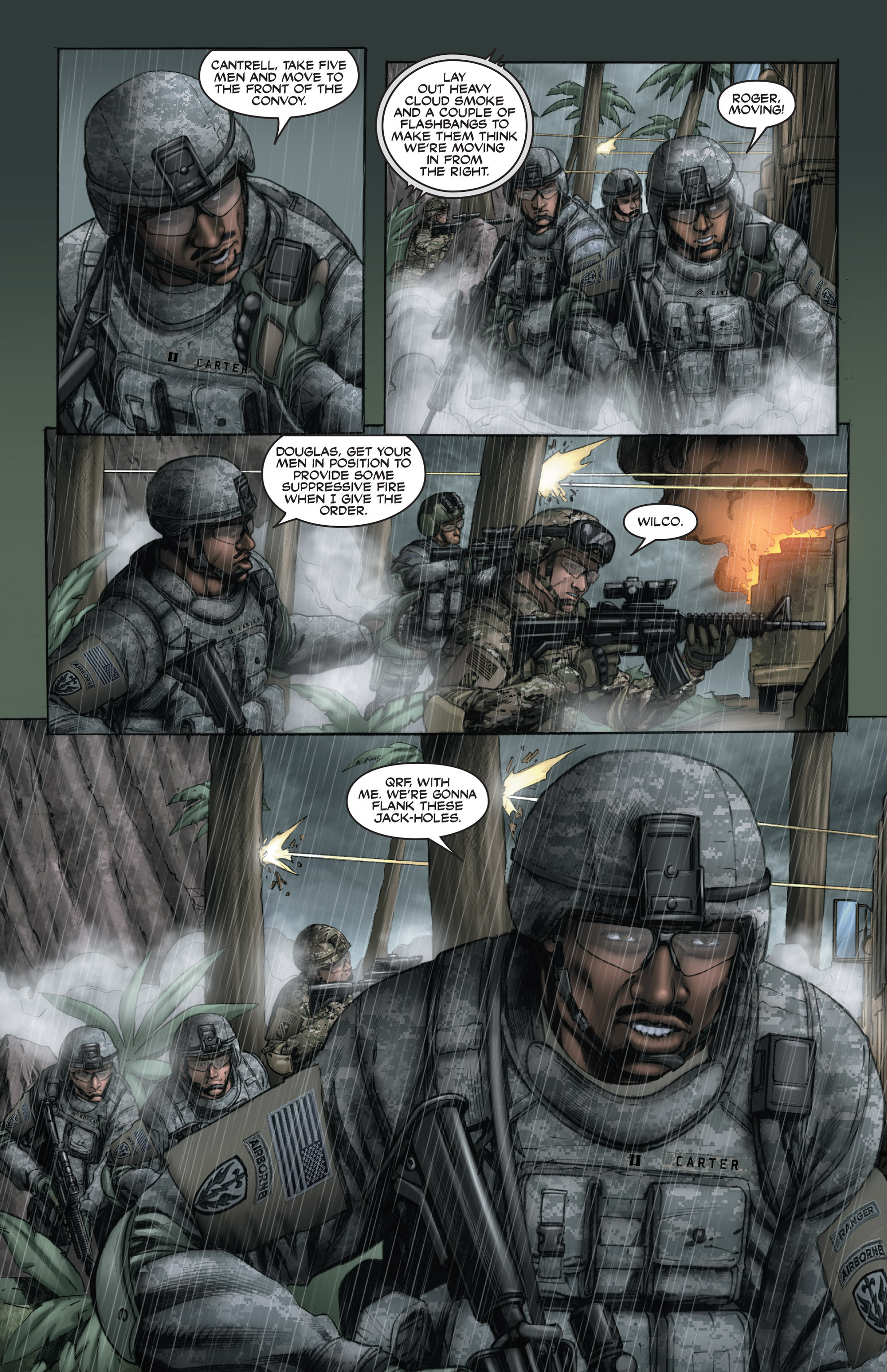 Read online America's Army comic -  Issue #15 - 16