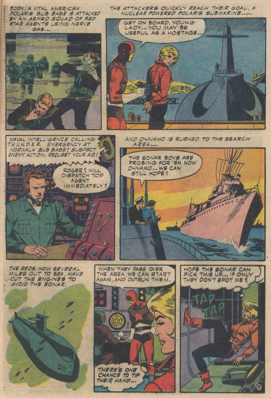 T.H.U.N.D.E.R. Agents (1965) issue 6 - Page 9