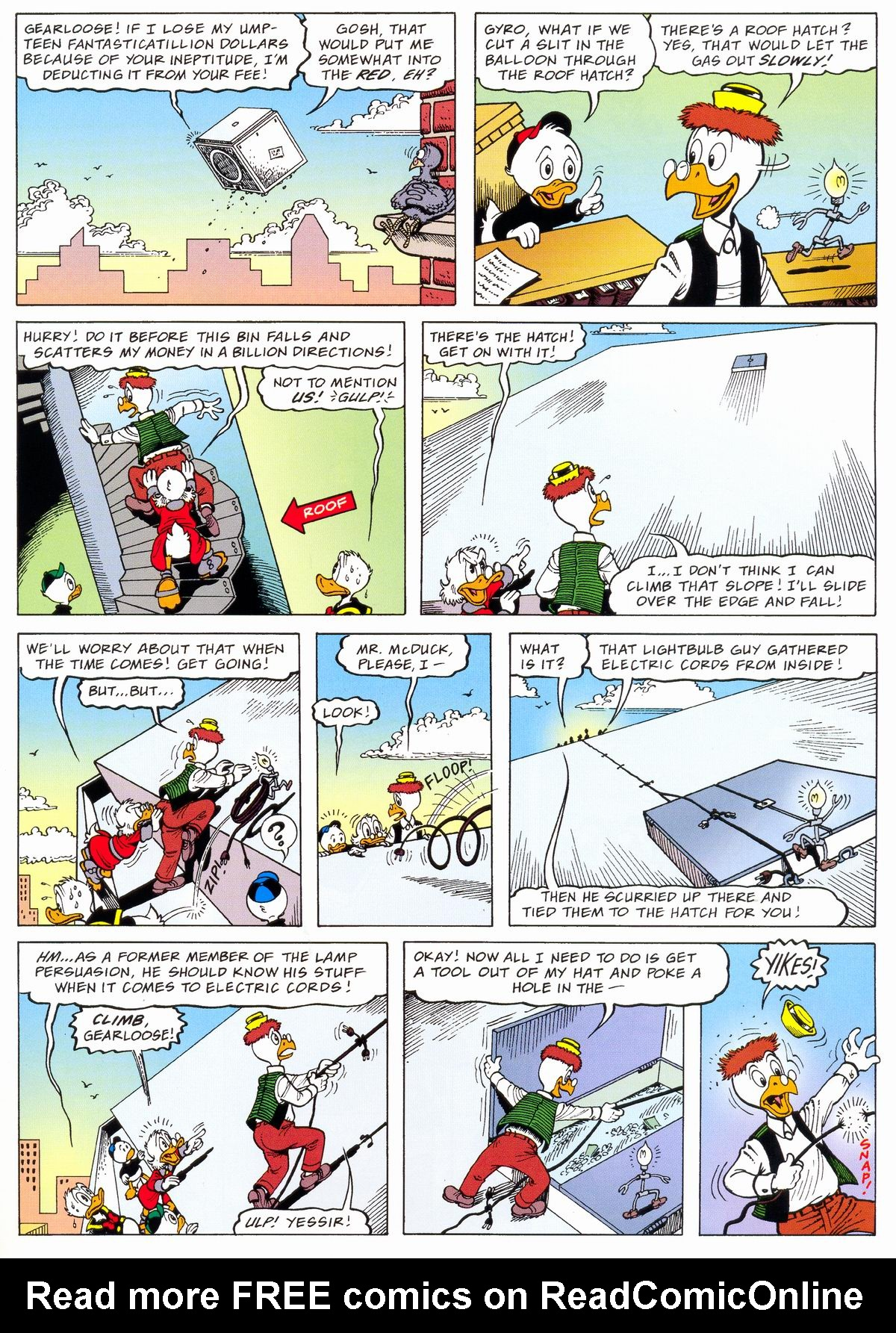 Read online Uncle Scrooge (1953) comic -  Issue #324 - 17