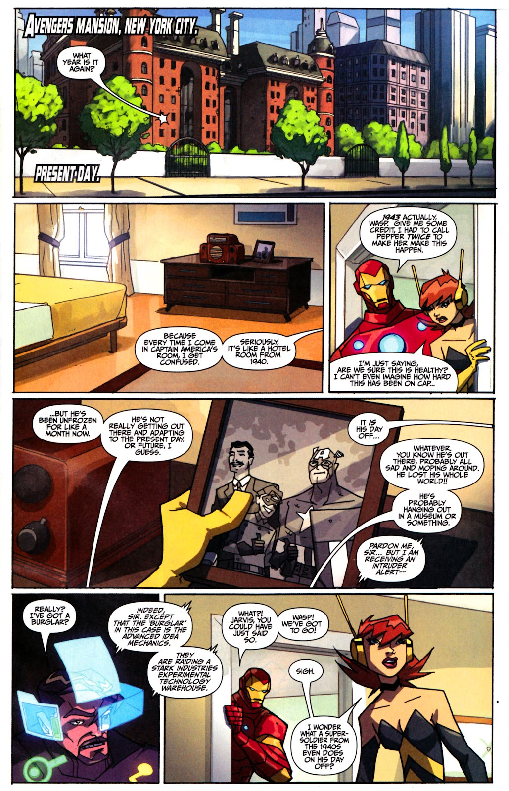 Avengers: Earth's Mightiest Heroes (2011) Issue #1 #1 - English 2