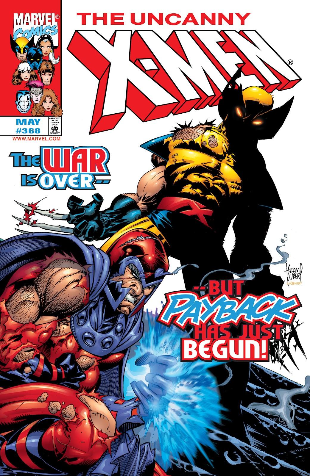 Uncanny X-Men (1963) issue 368 - Page 1