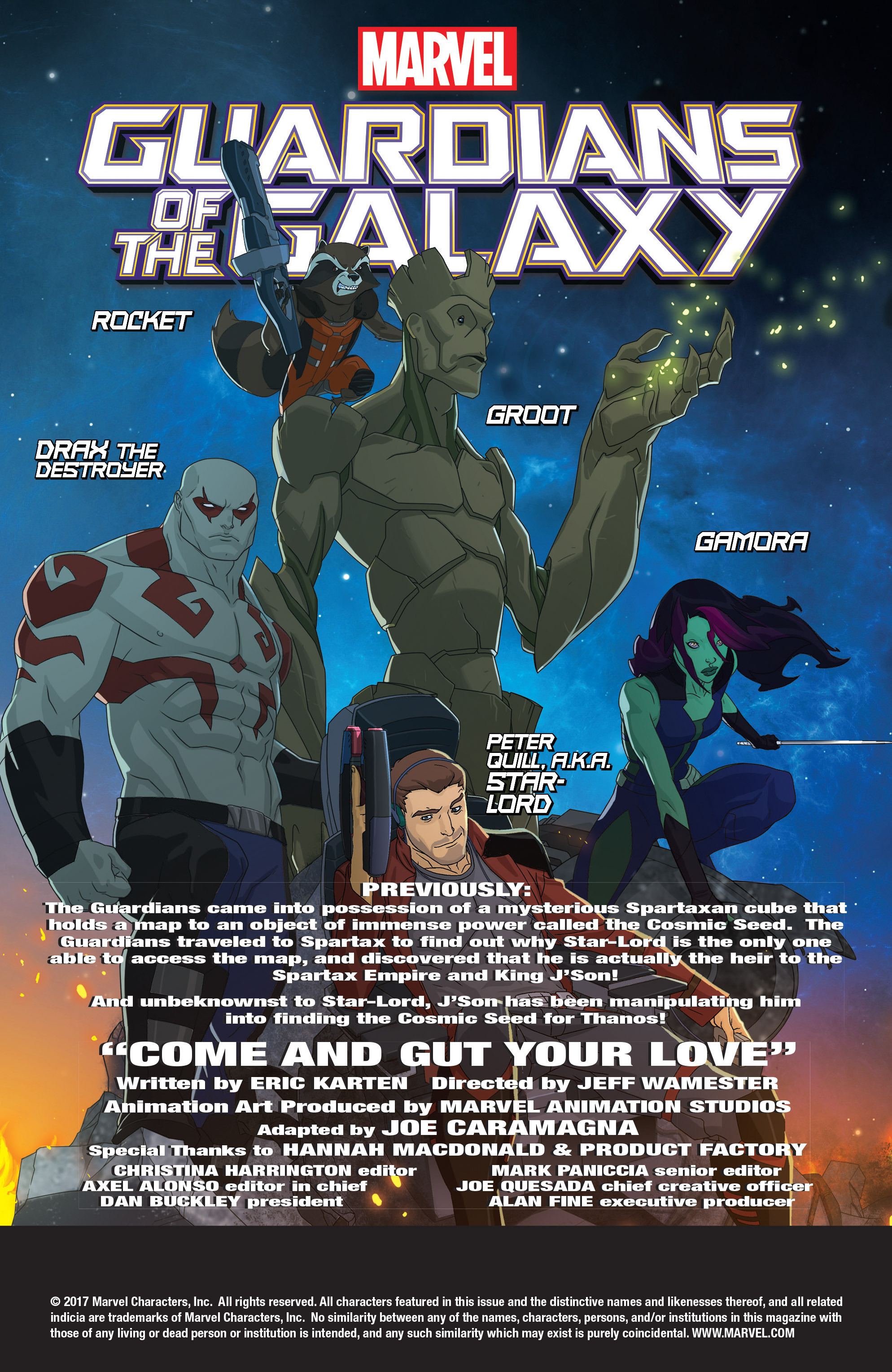 Read online Marvel Universe Guardians of the Galaxy [II] comic -  Issue #18 - 2